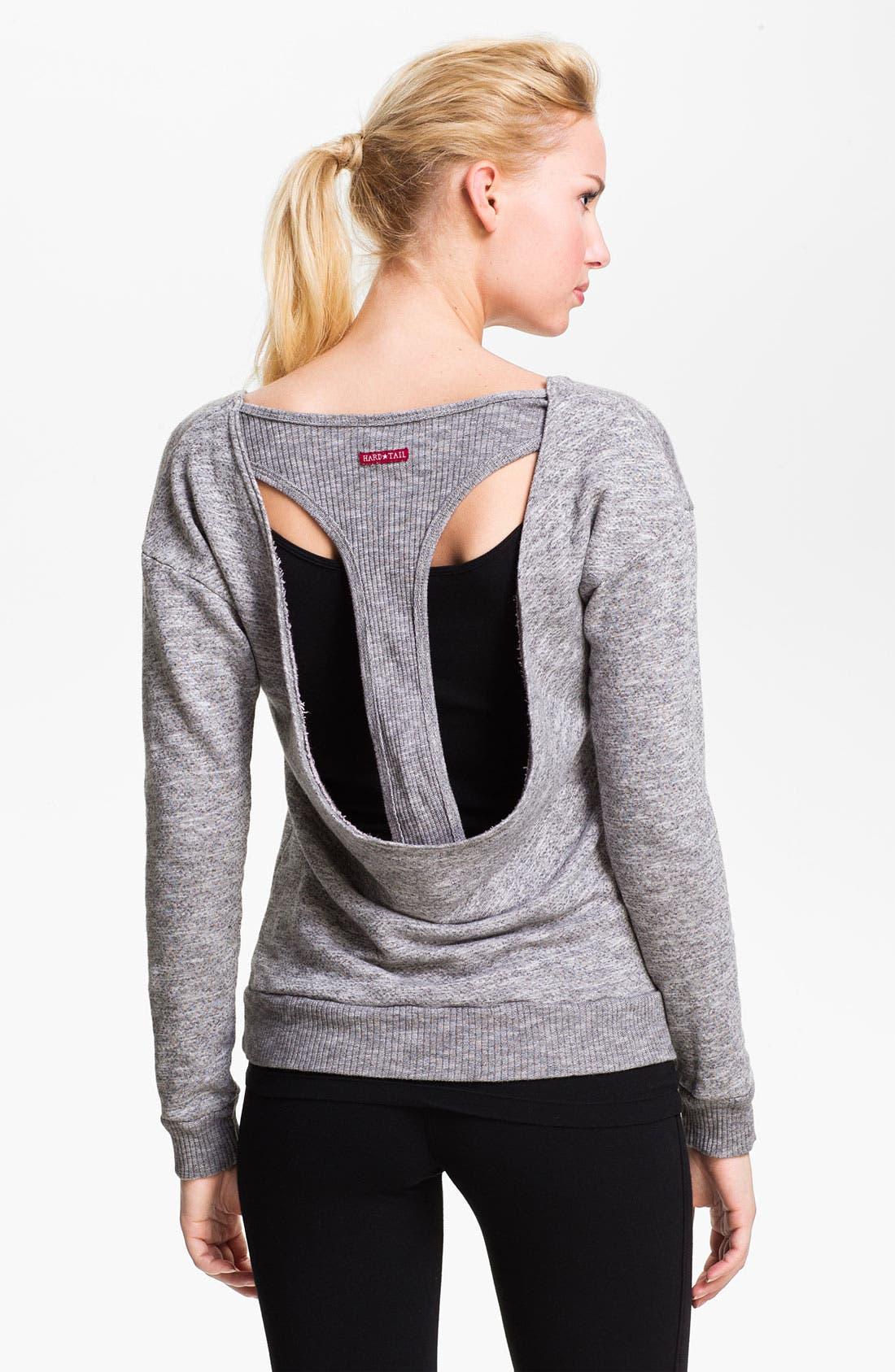 Slouchy Back Sweatshirt, Main, color, 039