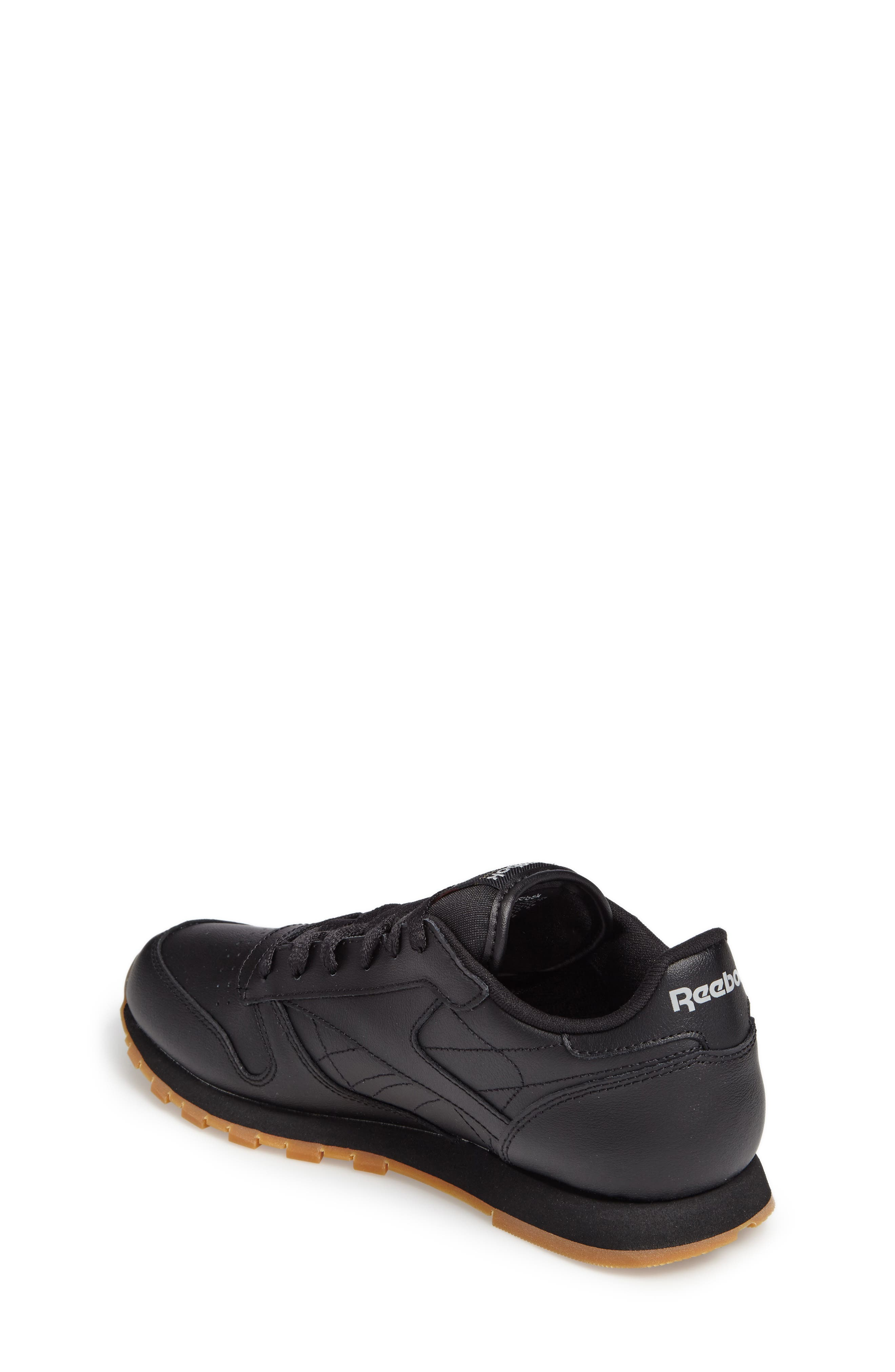 Classic Leather Sneaker,                             Alternate thumbnail 2, color,                             010