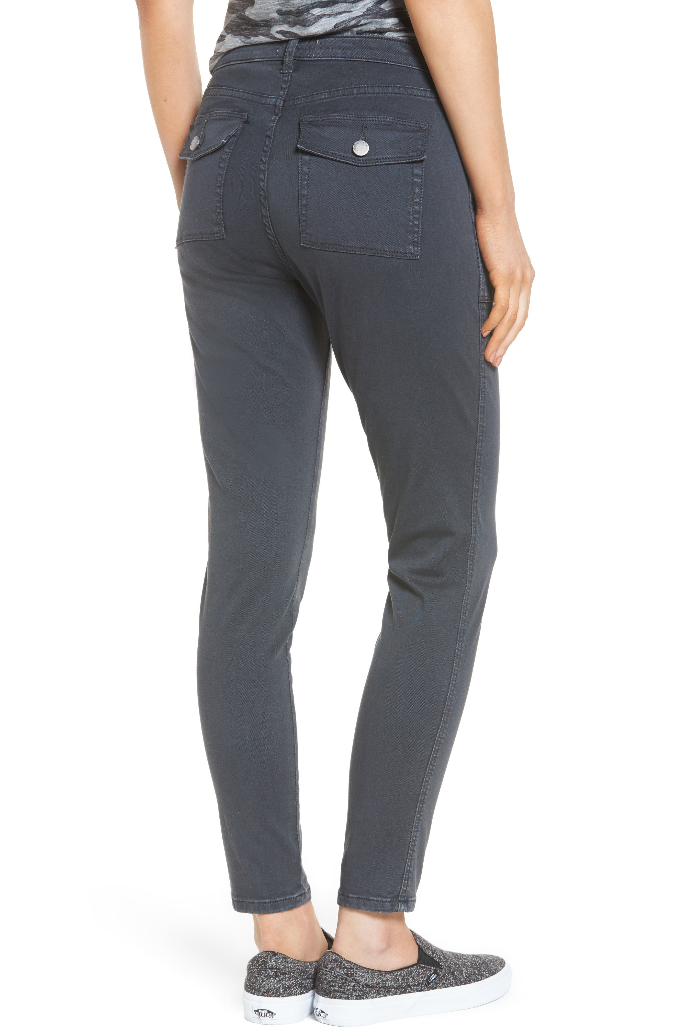 Slim Utility Pants,                             Alternate thumbnail 3, color,