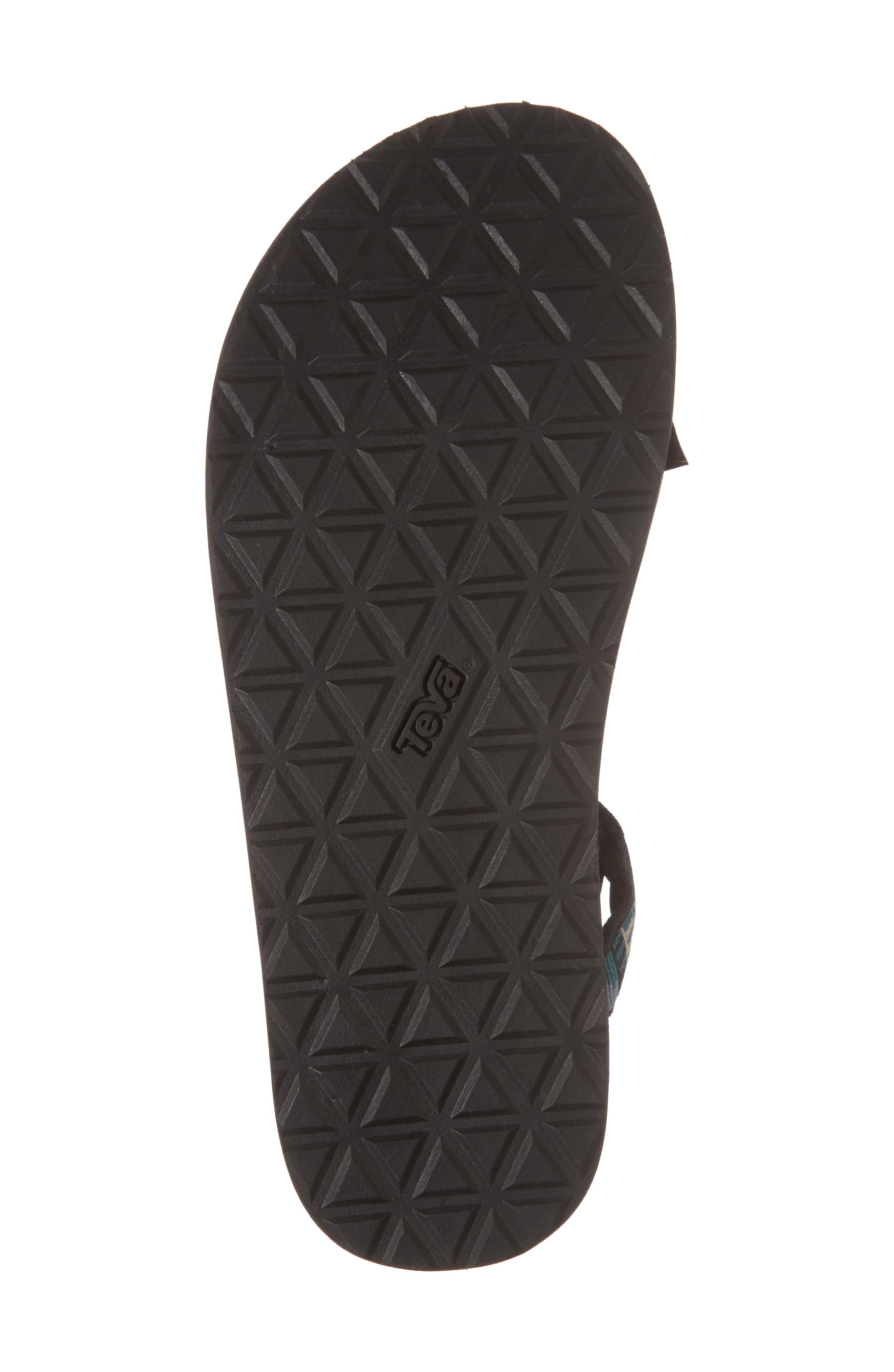 Original Universal Sandal,                             Alternate thumbnail 6, color,                             BLACK NYLON