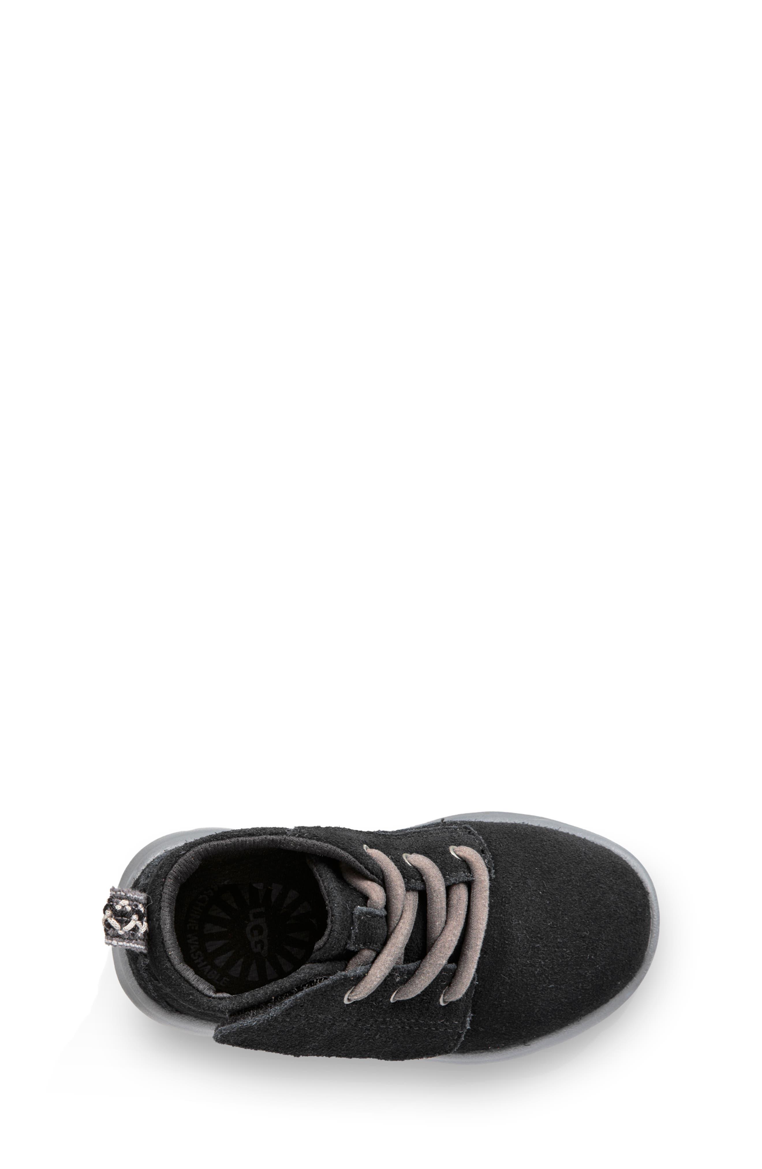 Canoe Washable Chukka Sneaker,                             Alternate thumbnail 4, color,                             BLACK