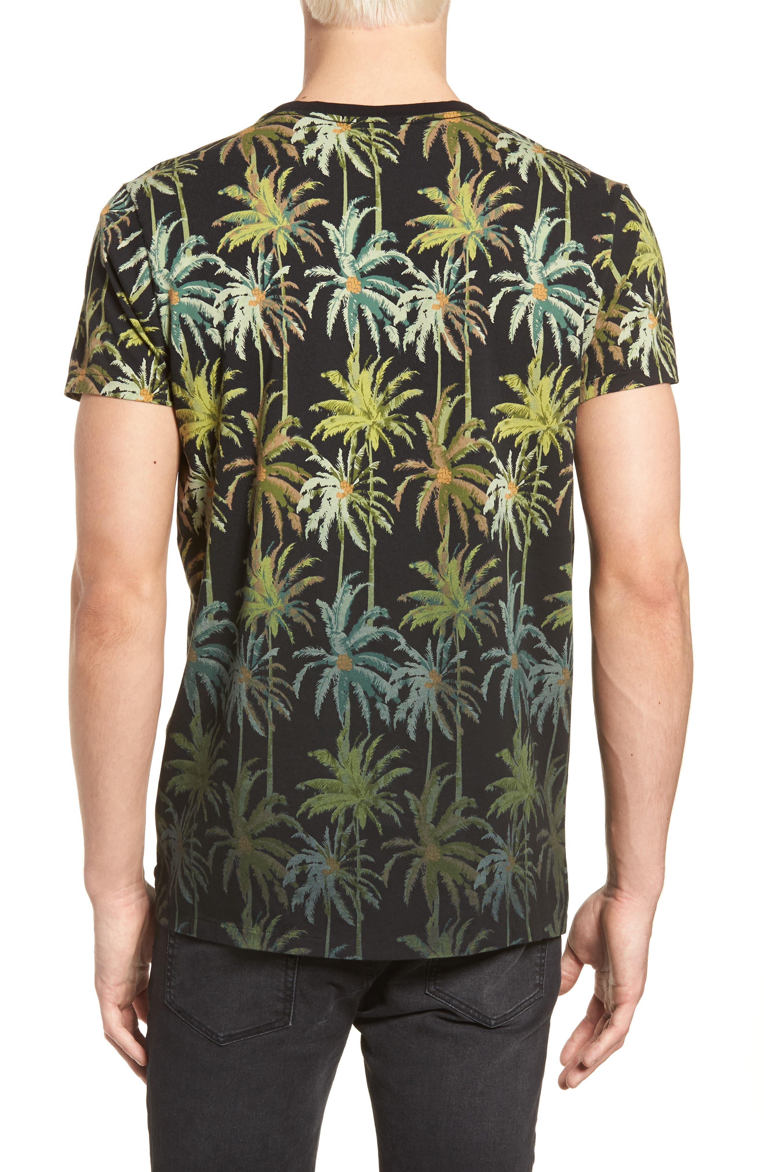 The Poolside Print T-Shirt,                             Alternate thumbnail 2, color,                             COMBO B