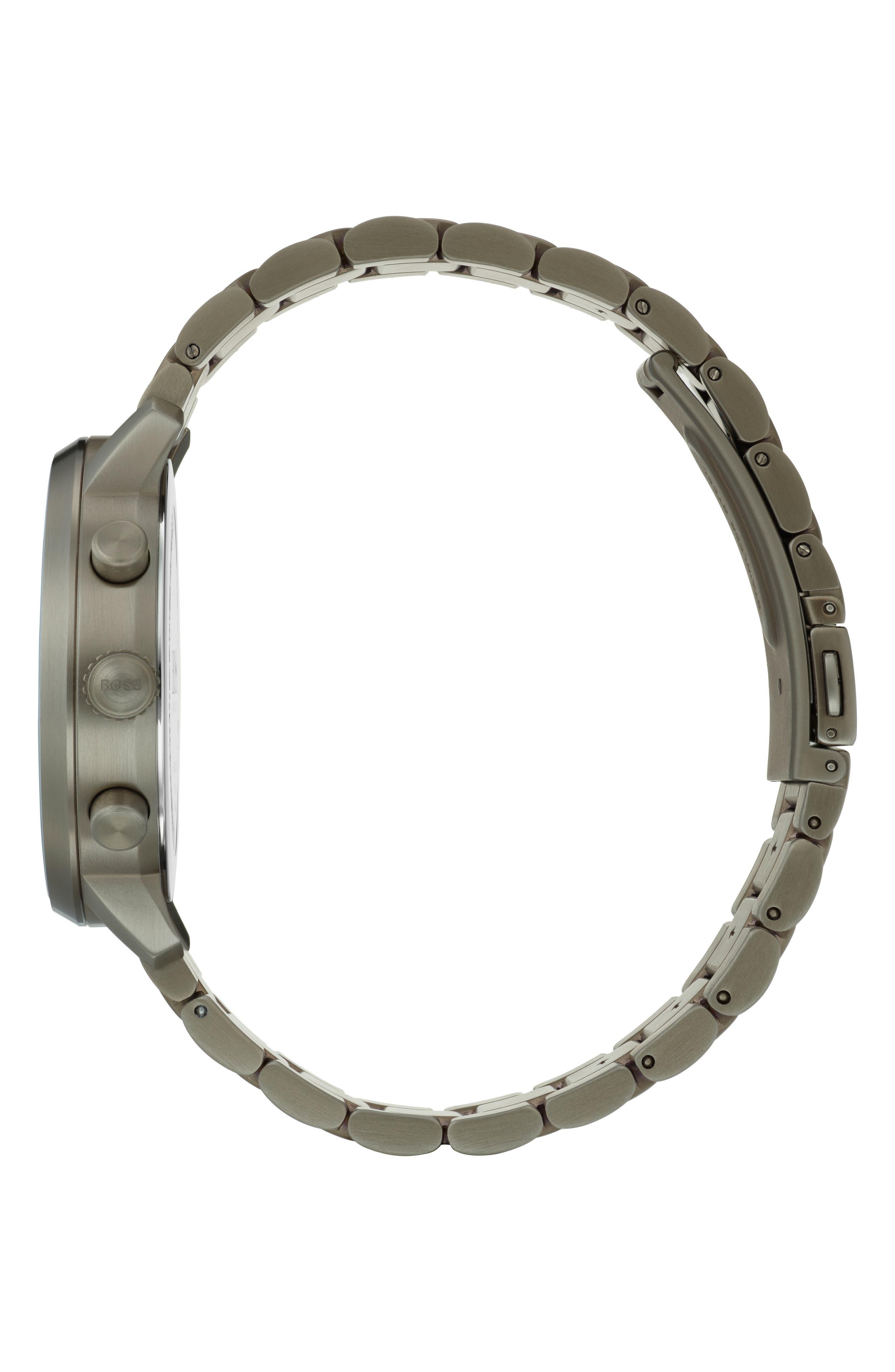 Attitude Chronograph Bracelet Watch, 44mm,                             Alternate thumbnail 3, color,                             BLUE