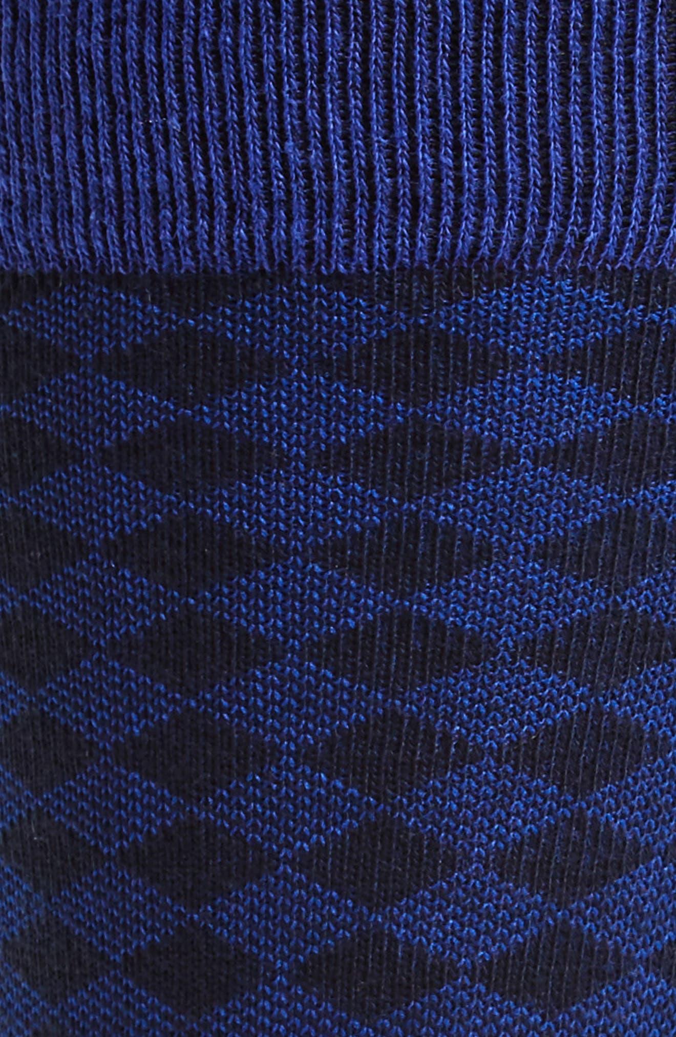 Oakwood Geometric Socks,                             Alternate thumbnail 3, color,