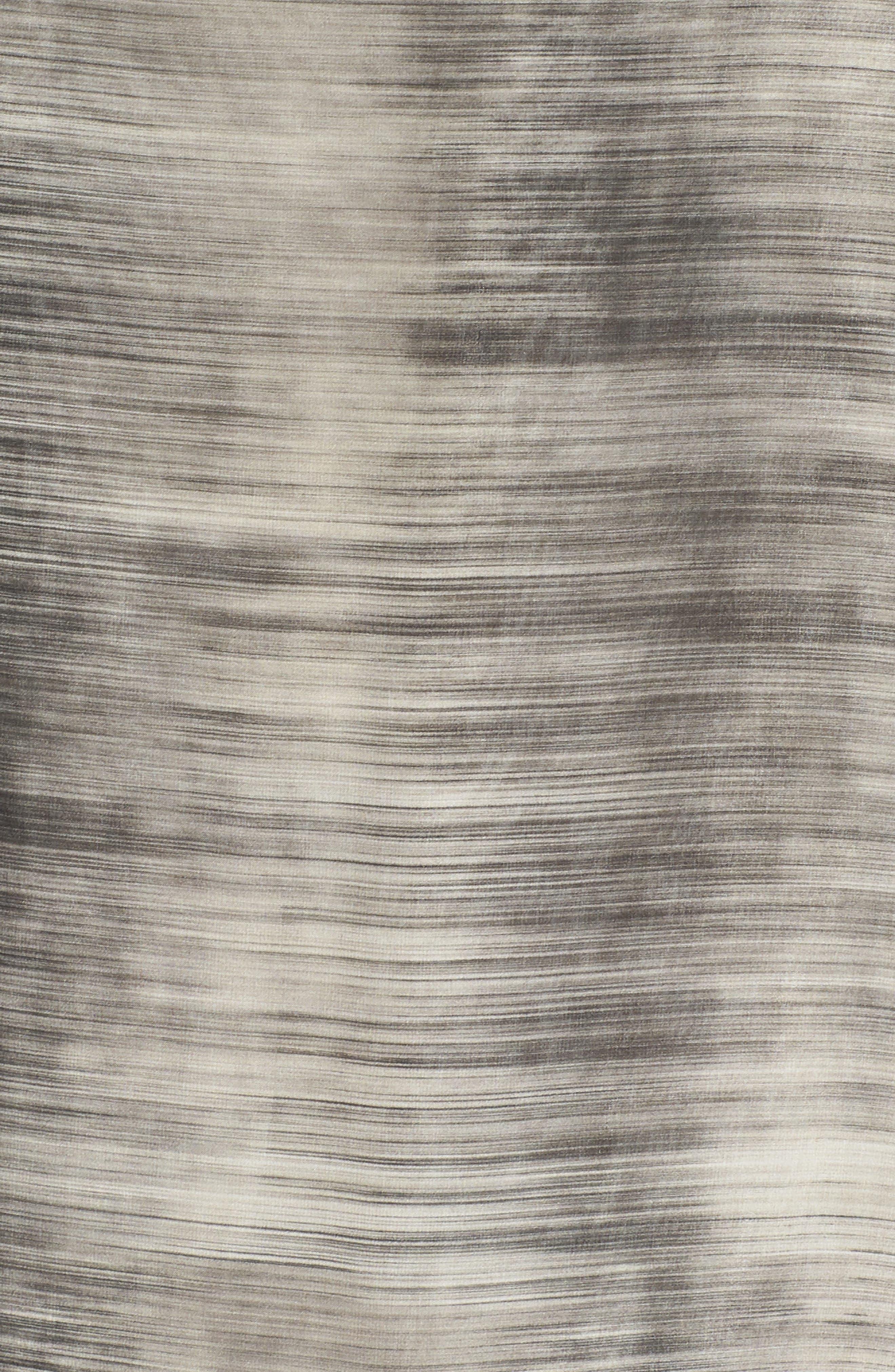Bateau Neck Silk Shift Dress,                             Alternate thumbnail 6, color,                             268