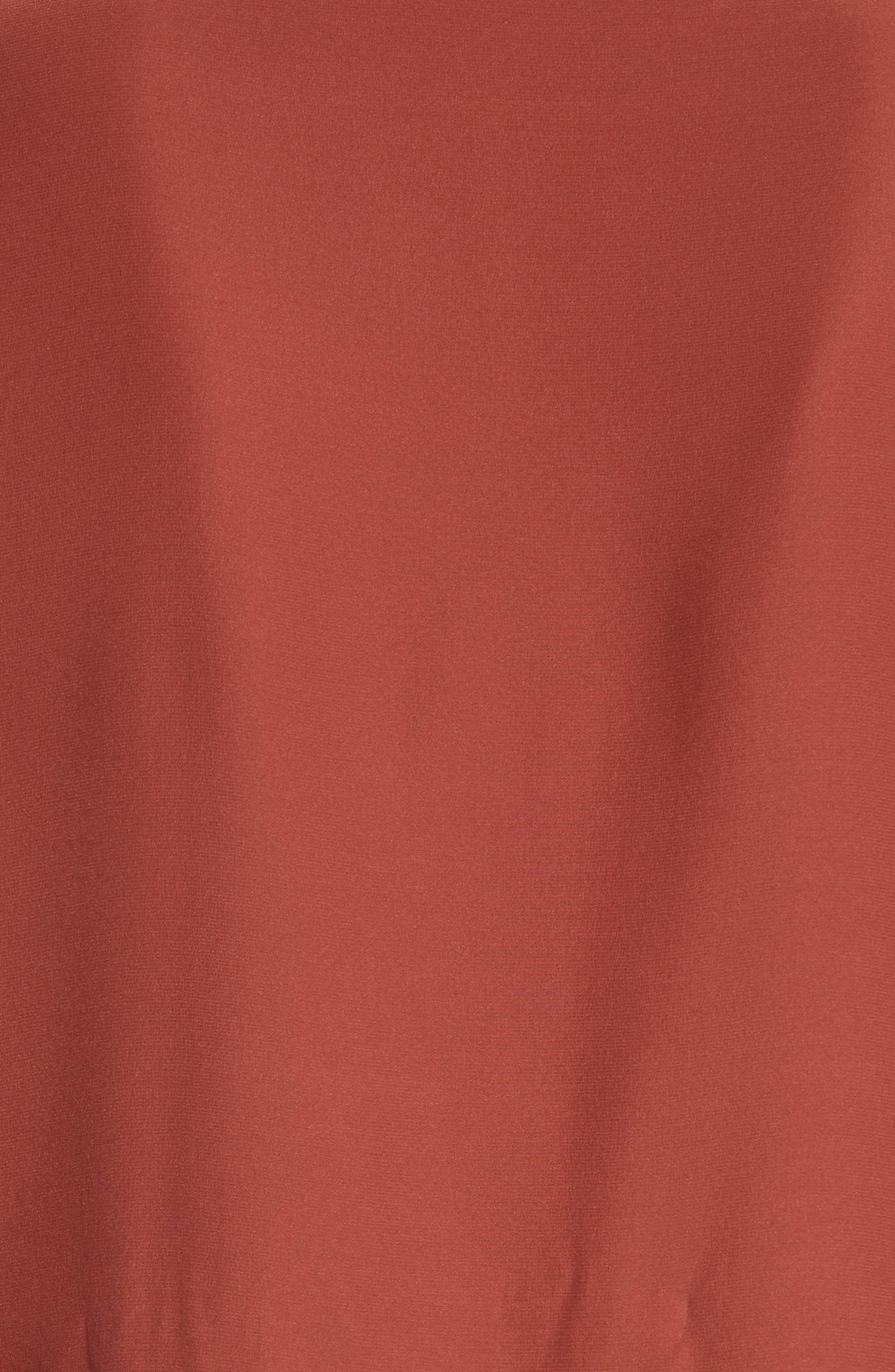 Norla Silk Bow Blouse,                             Alternate thumbnail 5, color,                             845