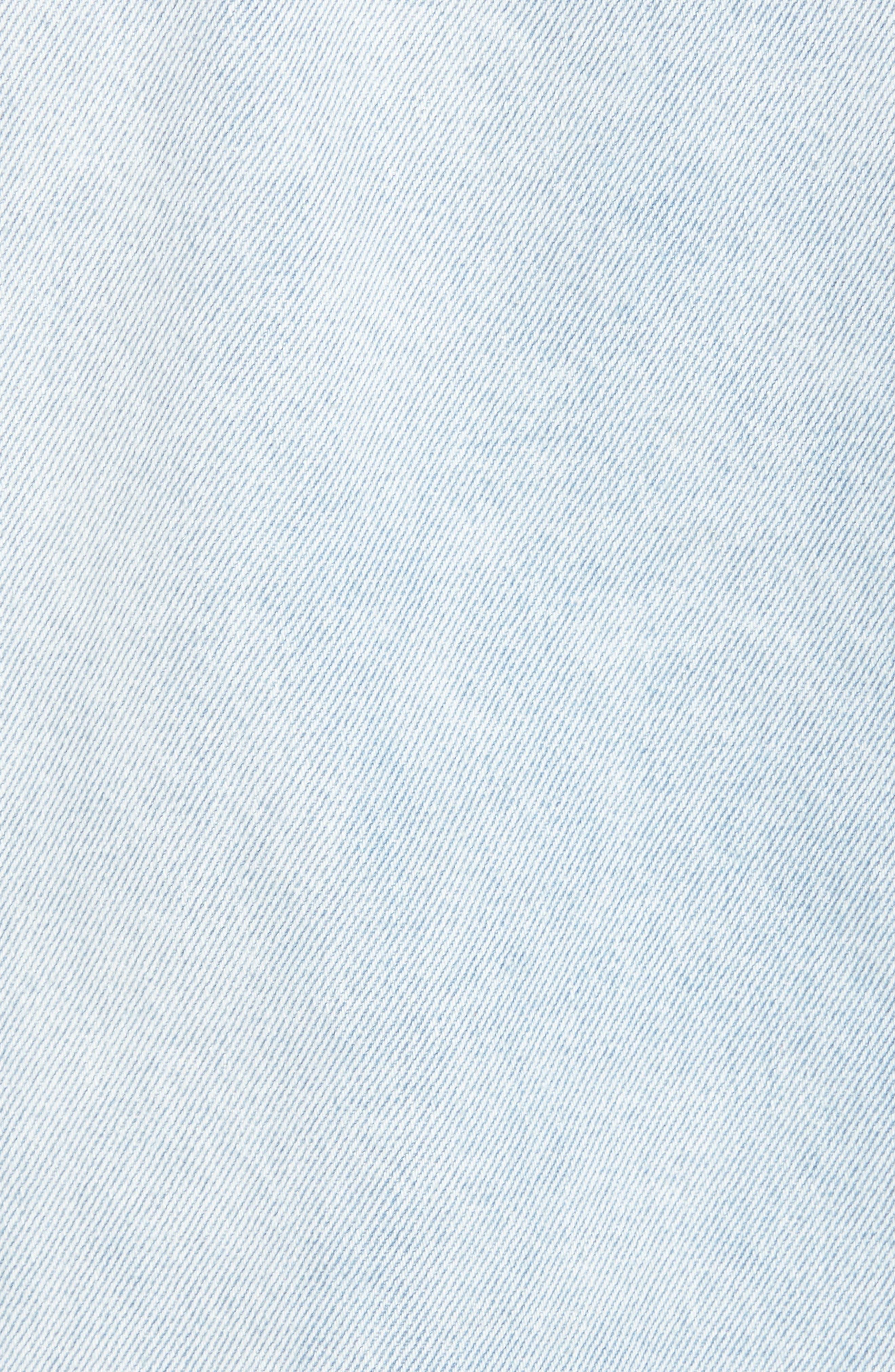 THE RAIL,                             Denim Jacket,                             Alternate thumbnail 7, color,                             LIGHT BLUE