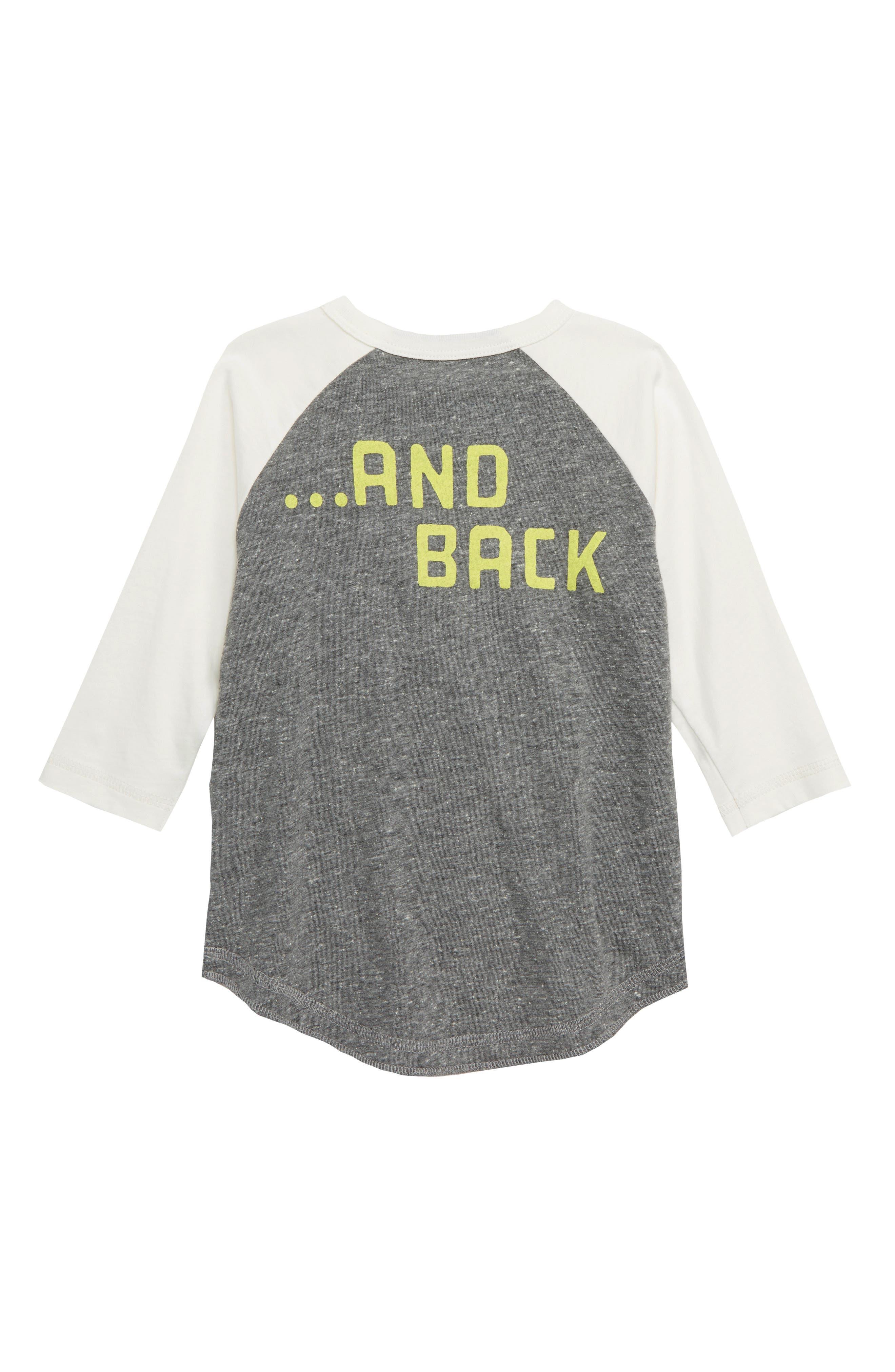 PEEK AREN'T YOU CURIOUS,                             Moon & Back Glow in the Dark Raglan T-Shirt,                             Alternate thumbnail 2, color,                             020