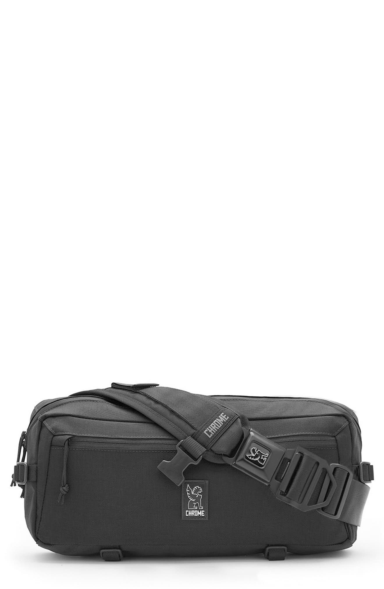 Kadet Messenger Bag,                             Main thumbnail 1, color,                             ALL BLACK