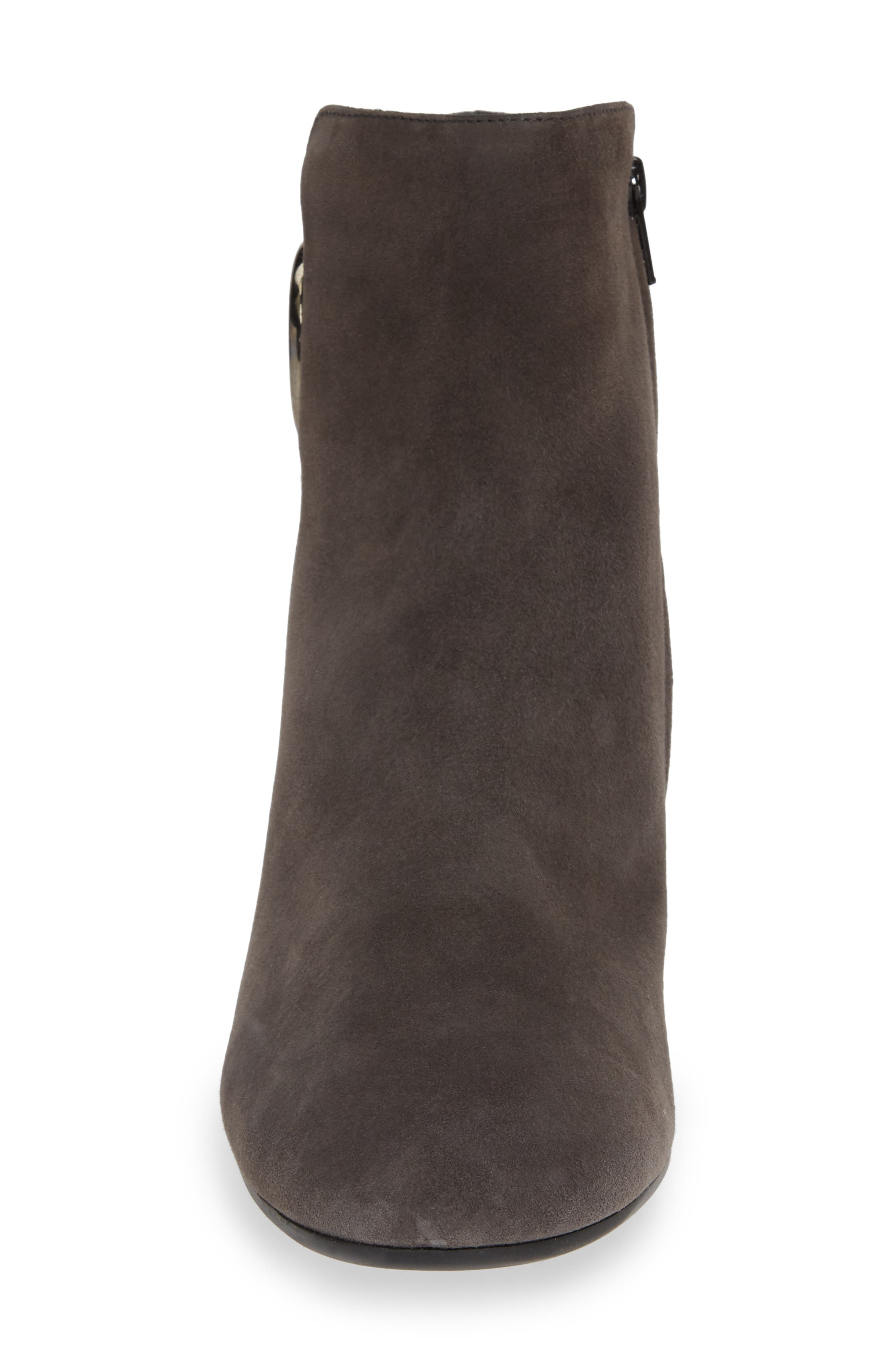 Taylor Bootie,                             Alternate thumbnail 4, color,                             IRON SUEDE
