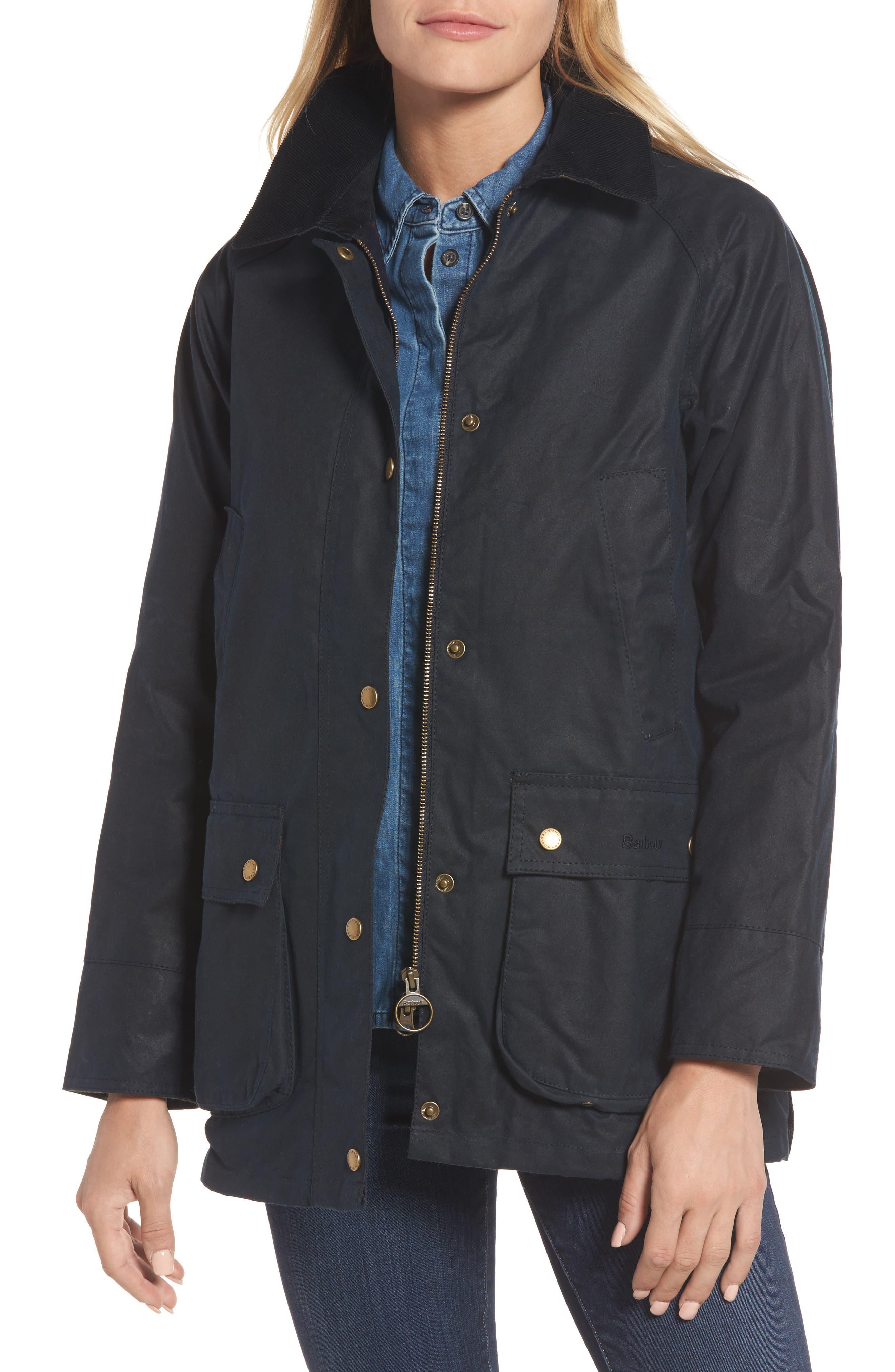 Barbour Acorn Field Jacket, US / 10 UK - Blue