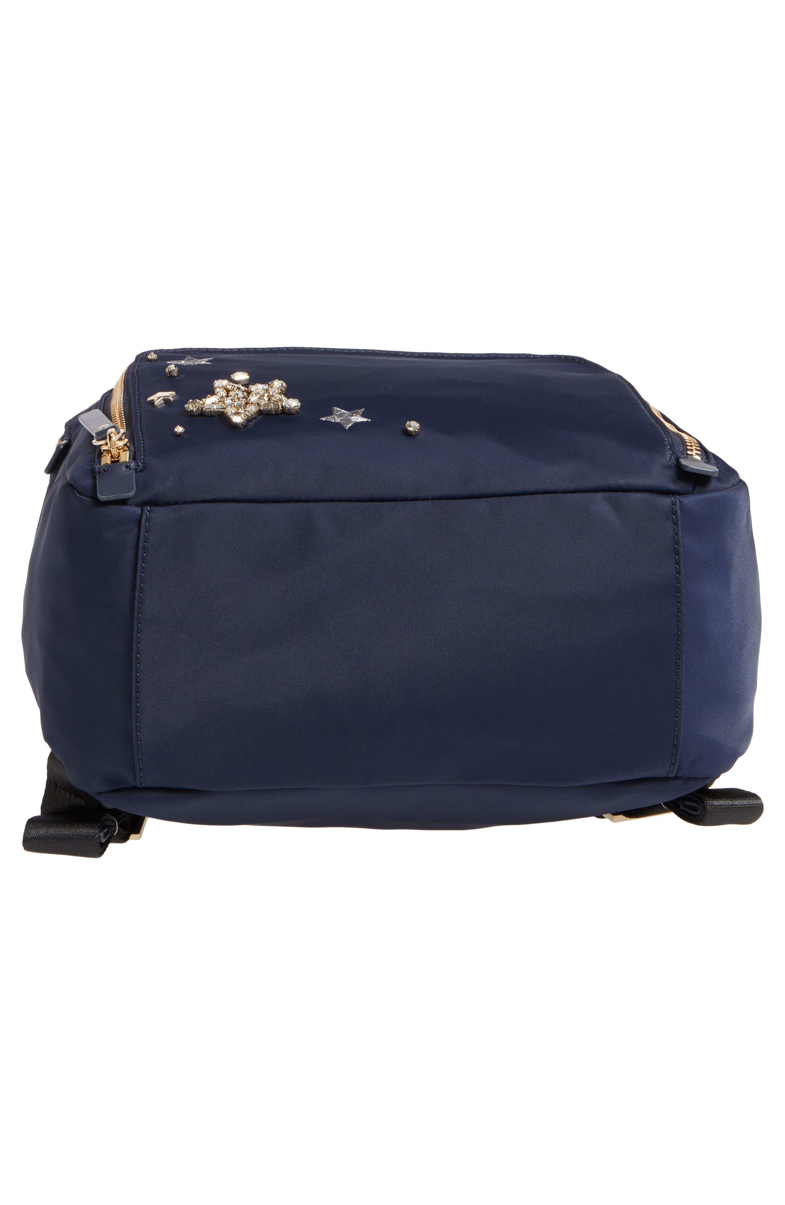 watson lane - hartley embellished nylon backpack,                             Alternate thumbnail 6, color,
