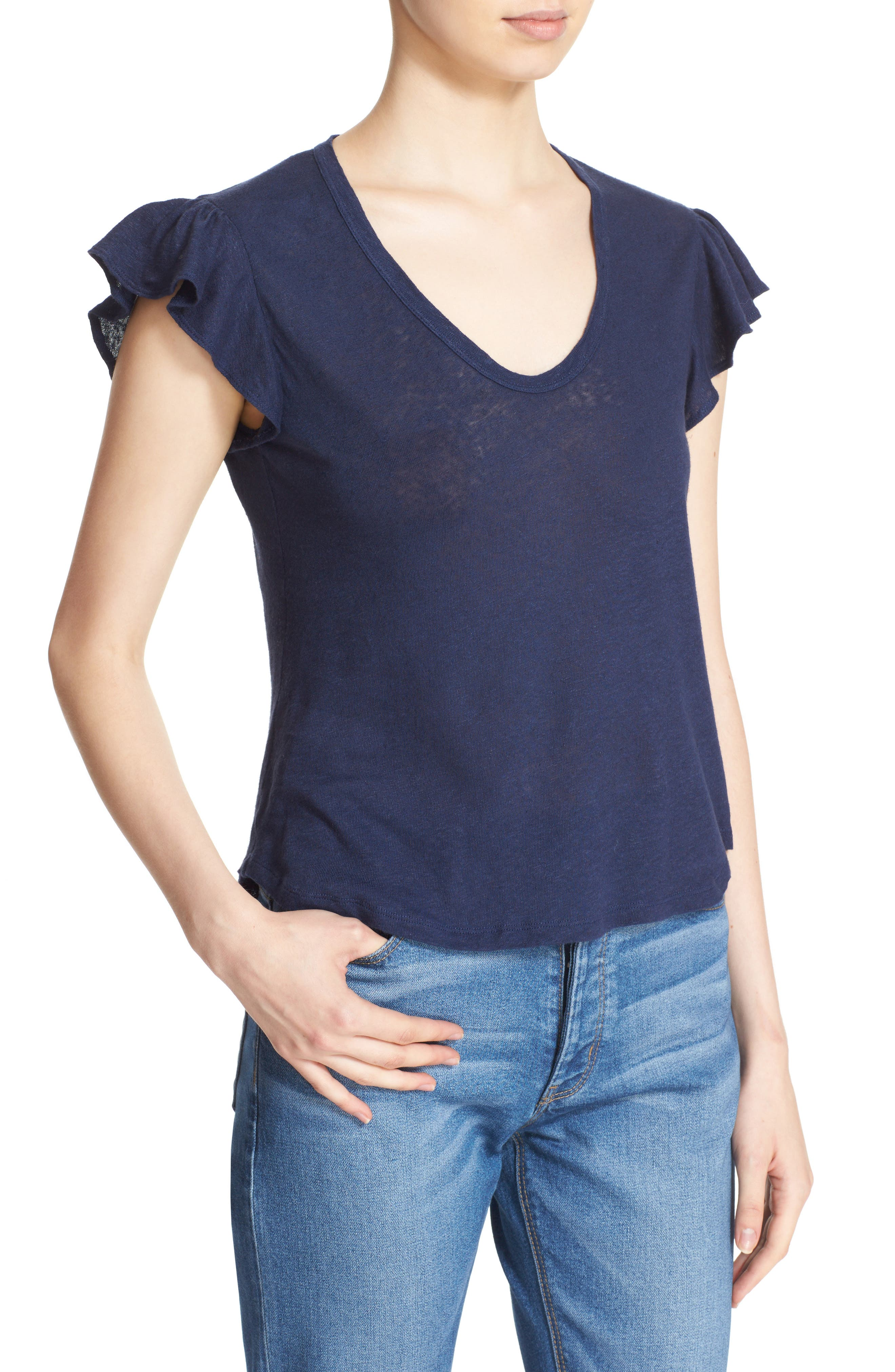 Washed Texture Jersey Tee,                             Alternate thumbnail 34, color,