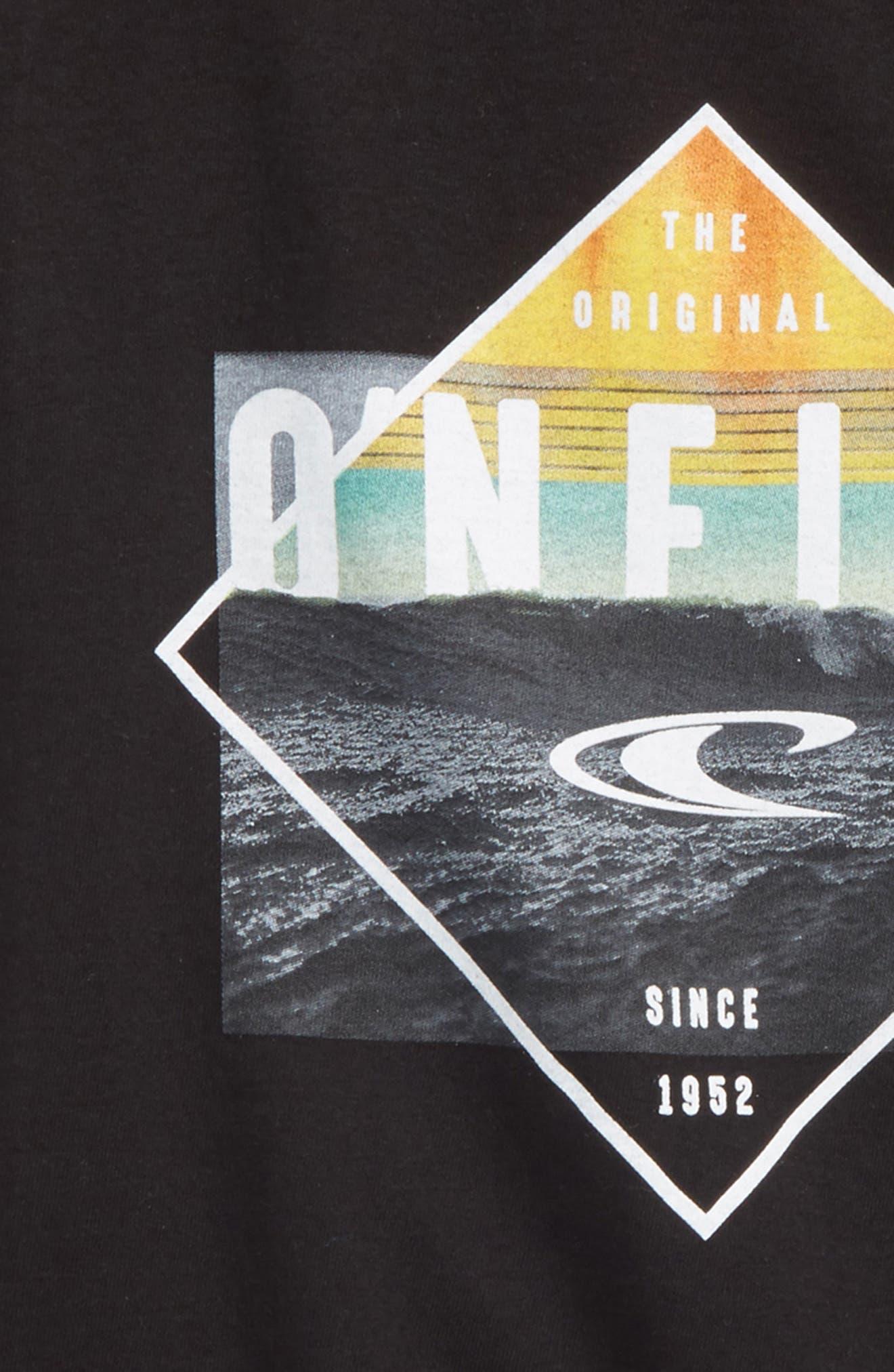 Black Pool Graphic T-Shirt,                             Alternate thumbnail 2, color,                             001