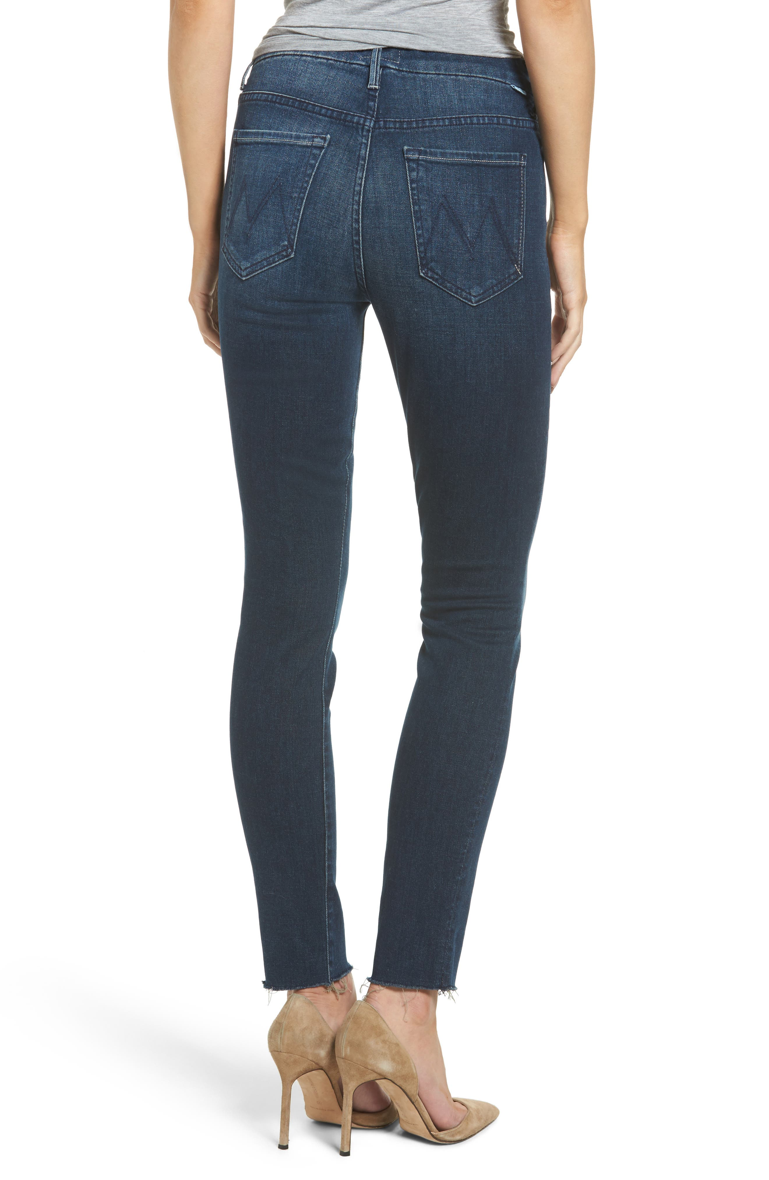 The Looker High Waist Ankle Skinny Jeans,                             Alternate thumbnail 2, color,                             408