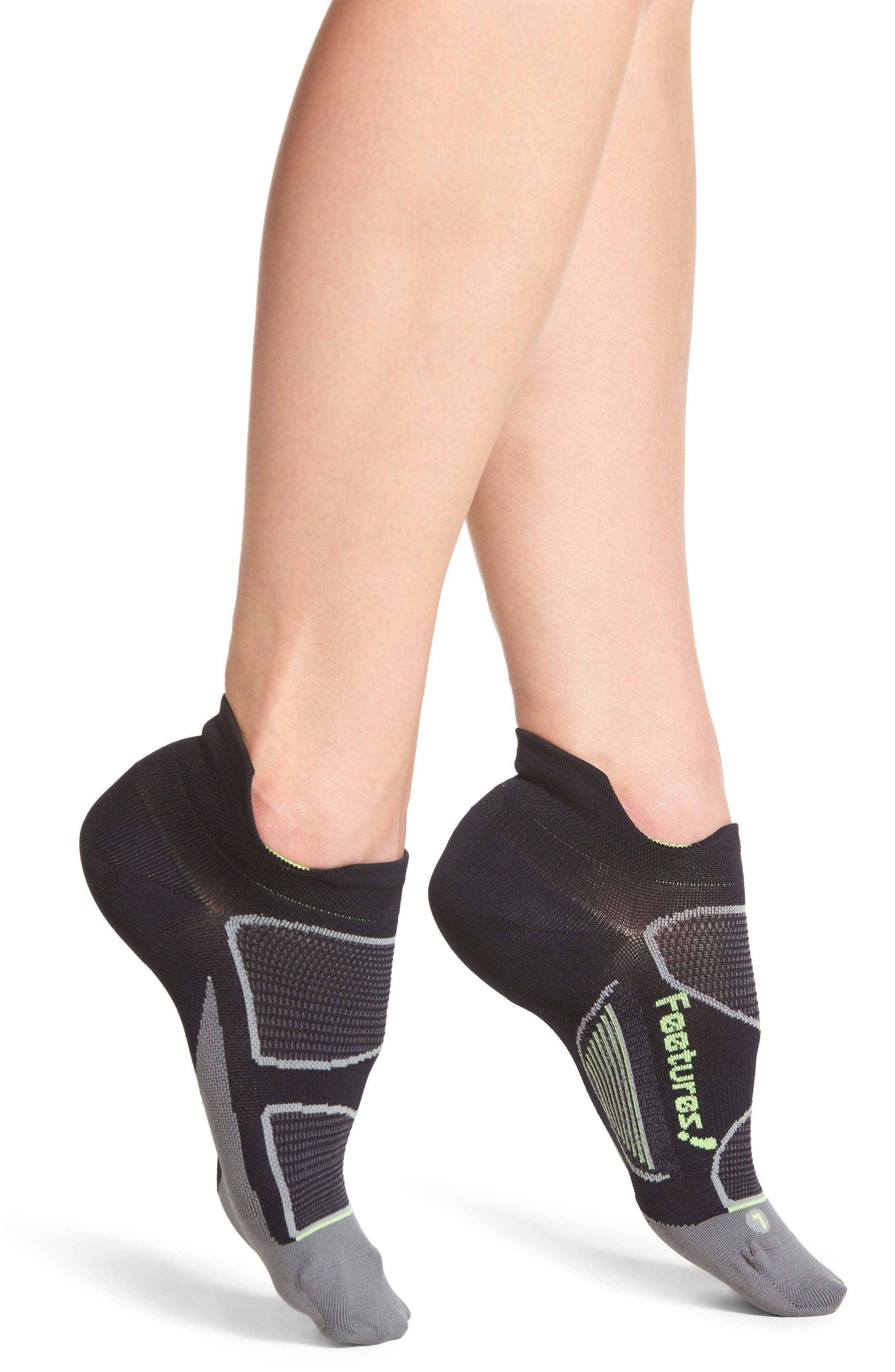 Elite Ultra Light No-Show Running Socks,                             Main thumbnail 1, color,                             002