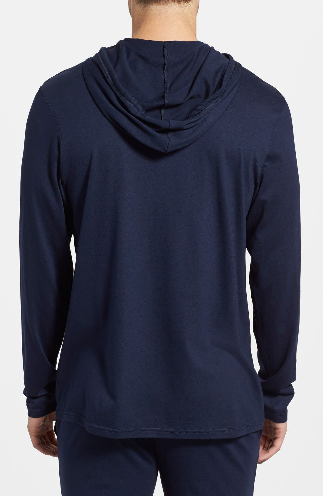 Pullover Hoodie,                             Alternate thumbnail 3, color,                             CRUISE NAVY