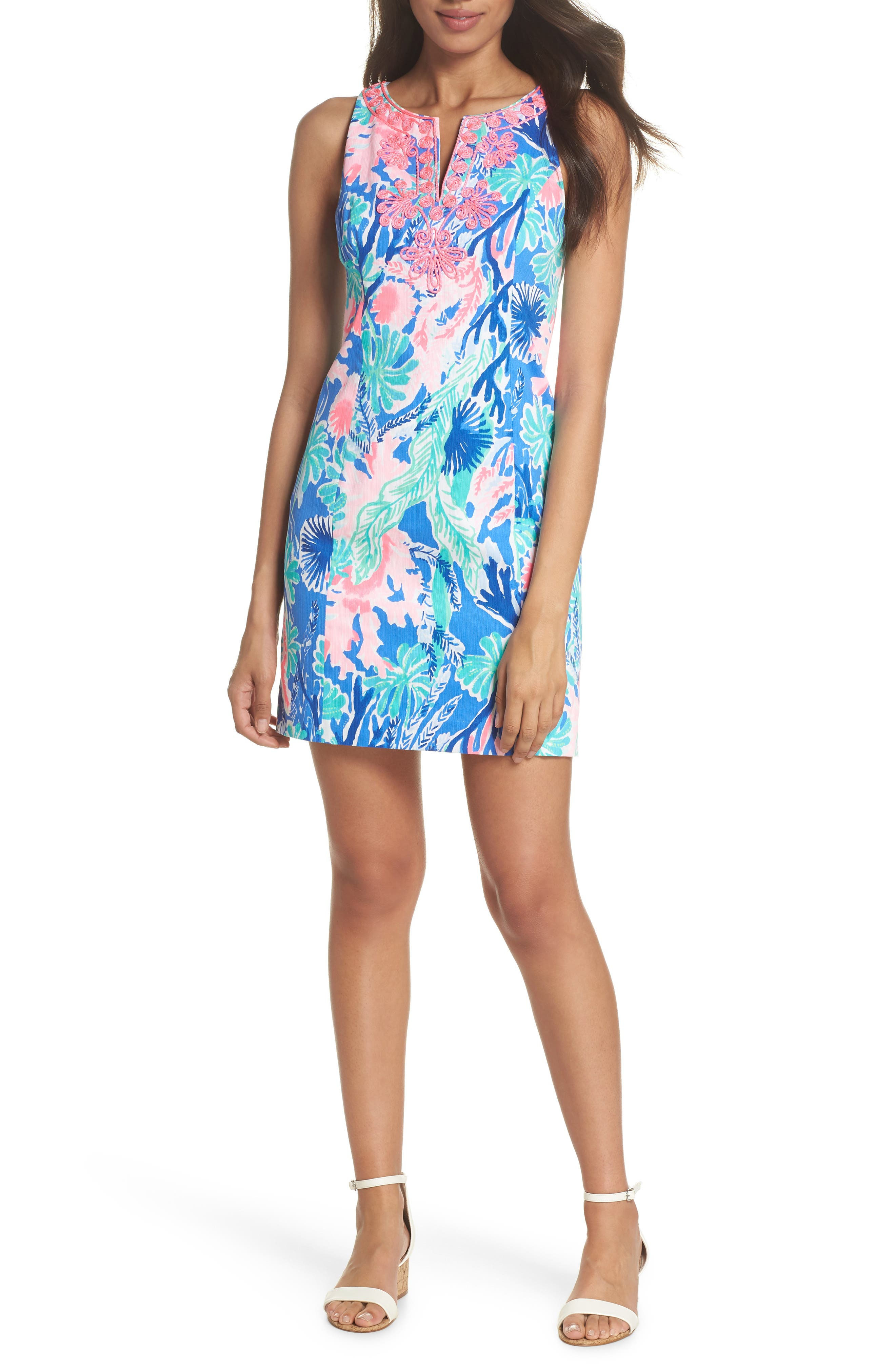 Gabby Sheath Dress,                             Alternate thumbnail 5, color,                             400