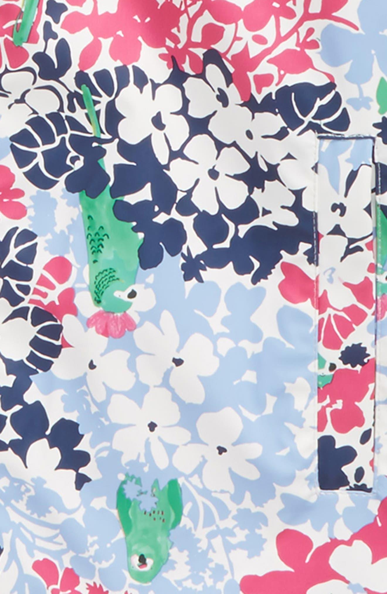 Fleece Lined Rain Jacket,                             Alternate thumbnail 2, color,                             409