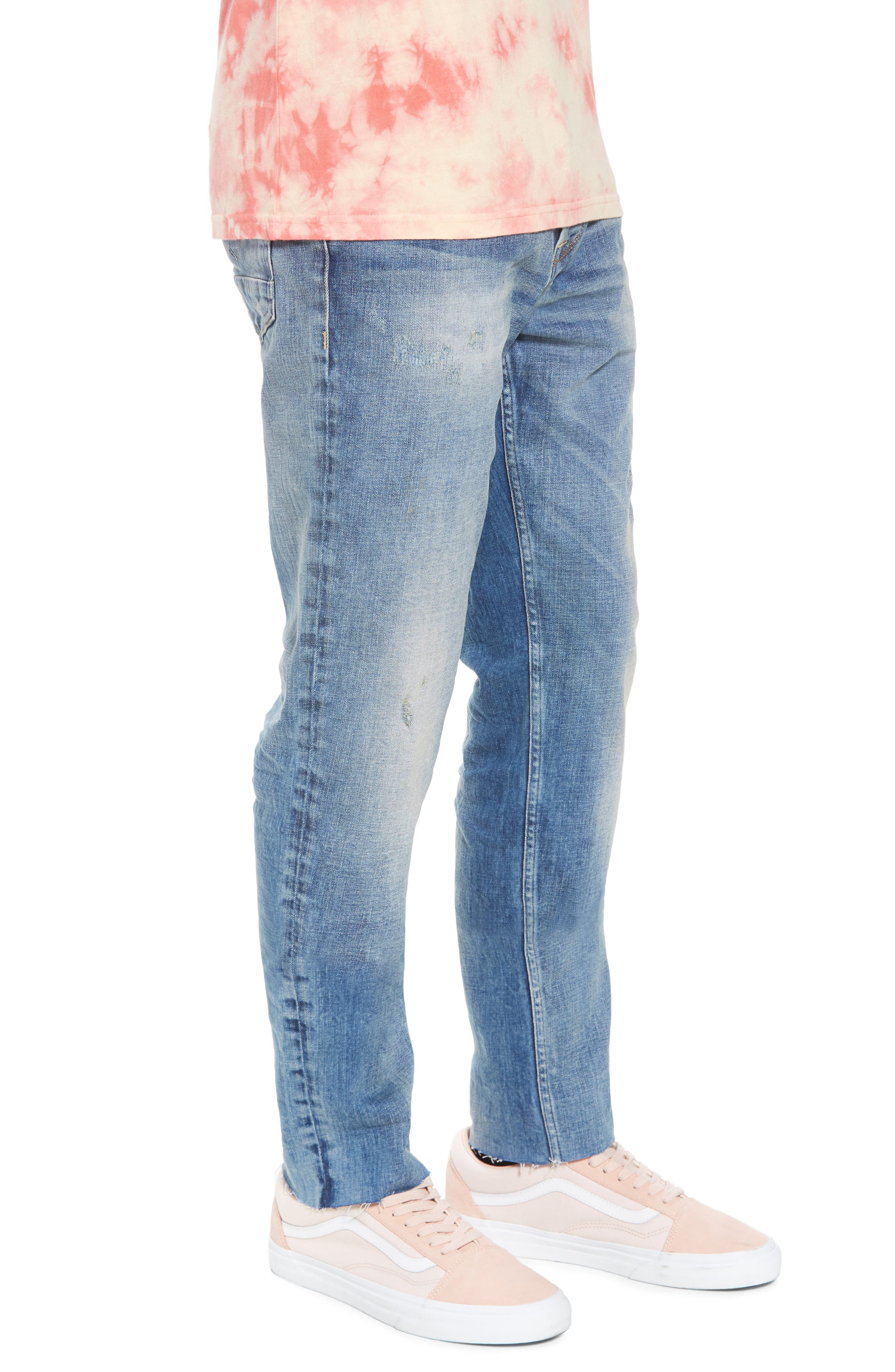 Sartor Slouchy Skinny Fit Jeans,                             Alternate thumbnail 3, color,                             429