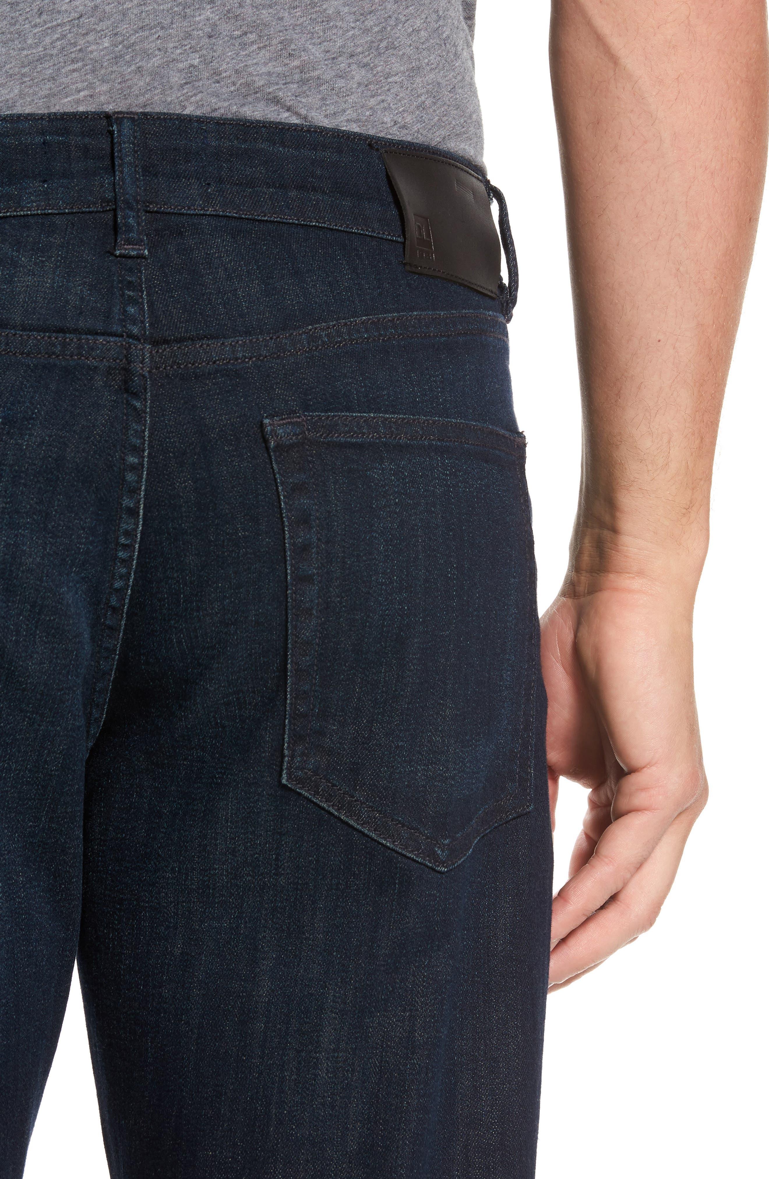 Avery Slim Straight Leg Jeans,                             Alternate thumbnail 4, color,                             426