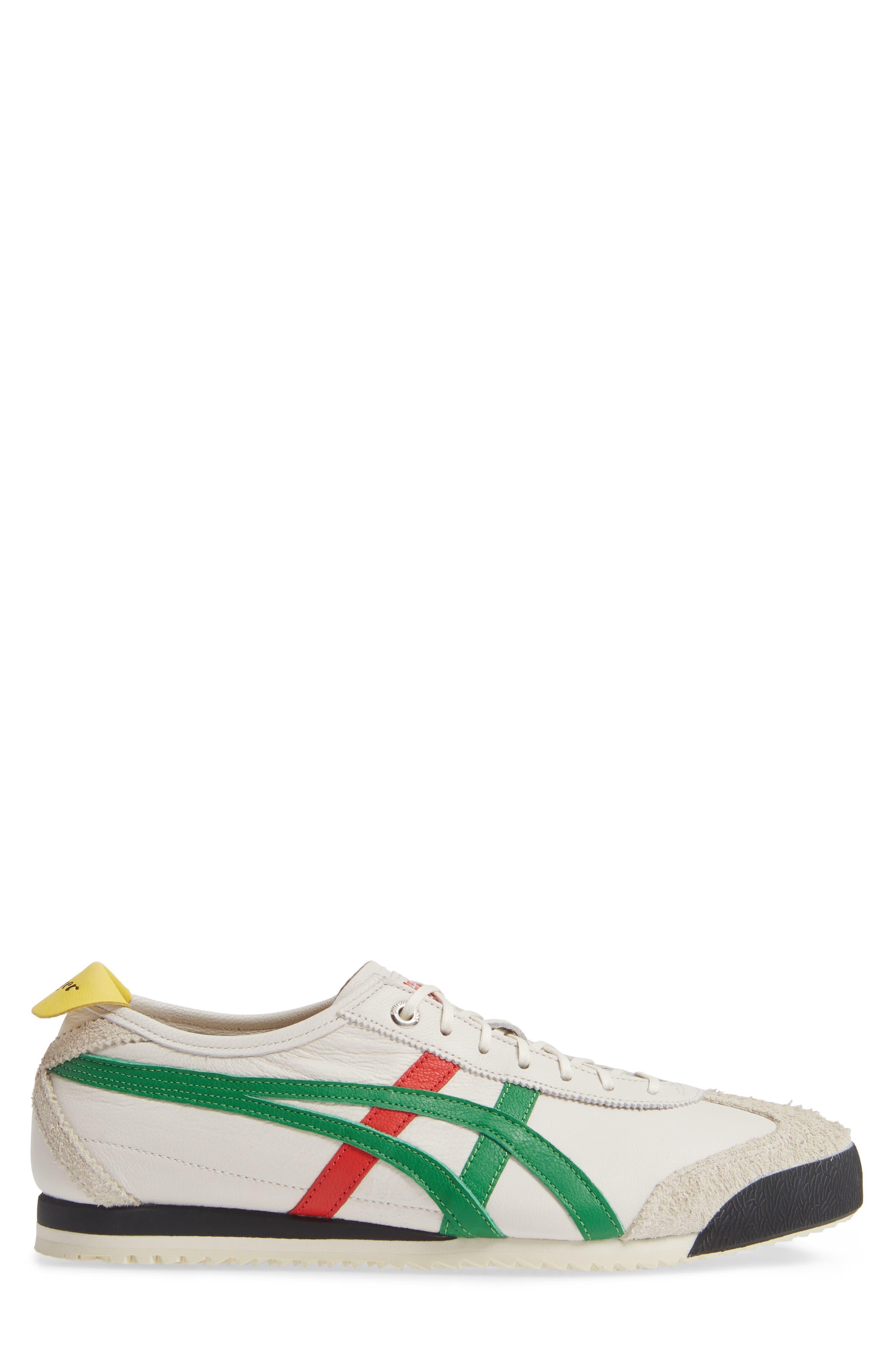 Mexico SD Sneaker,                             Alternate thumbnail 3, color,                             CREAM/ GREEN