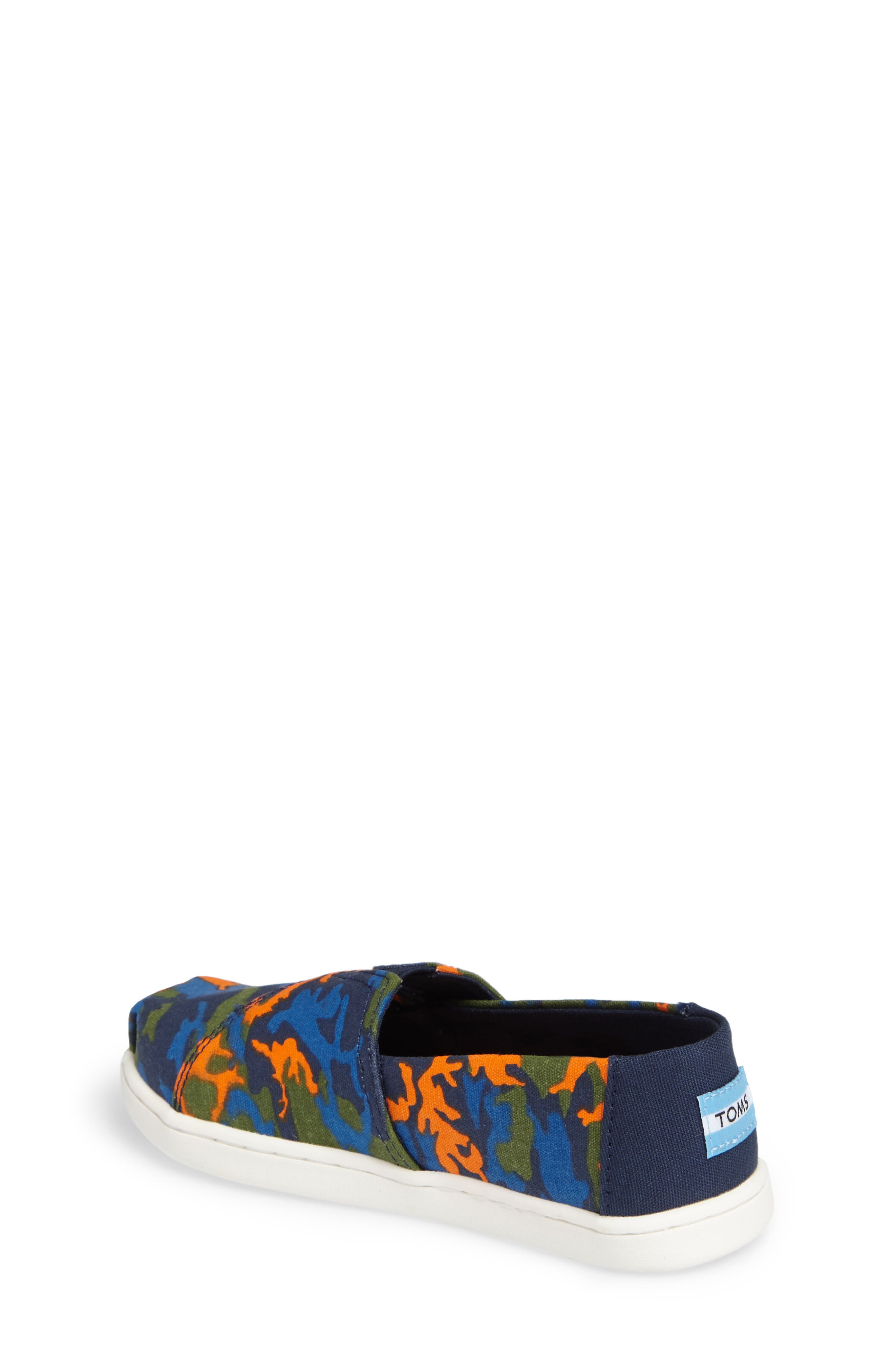 Tiny Alpargata Print Slip-On,                             Alternate thumbnail 10, color,