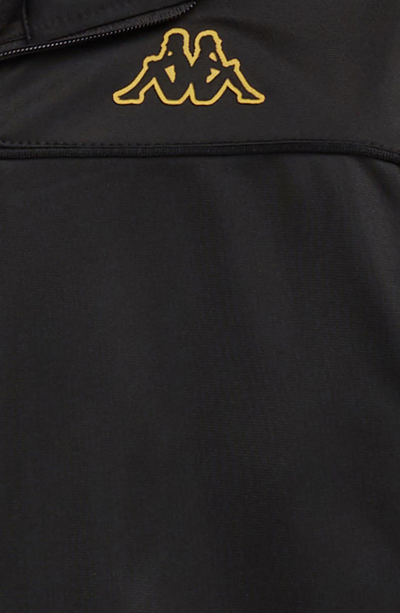 Banda Merez Slim Track Jacket,                             Alternate thumbnail 2, color,                             BLACK GOLD