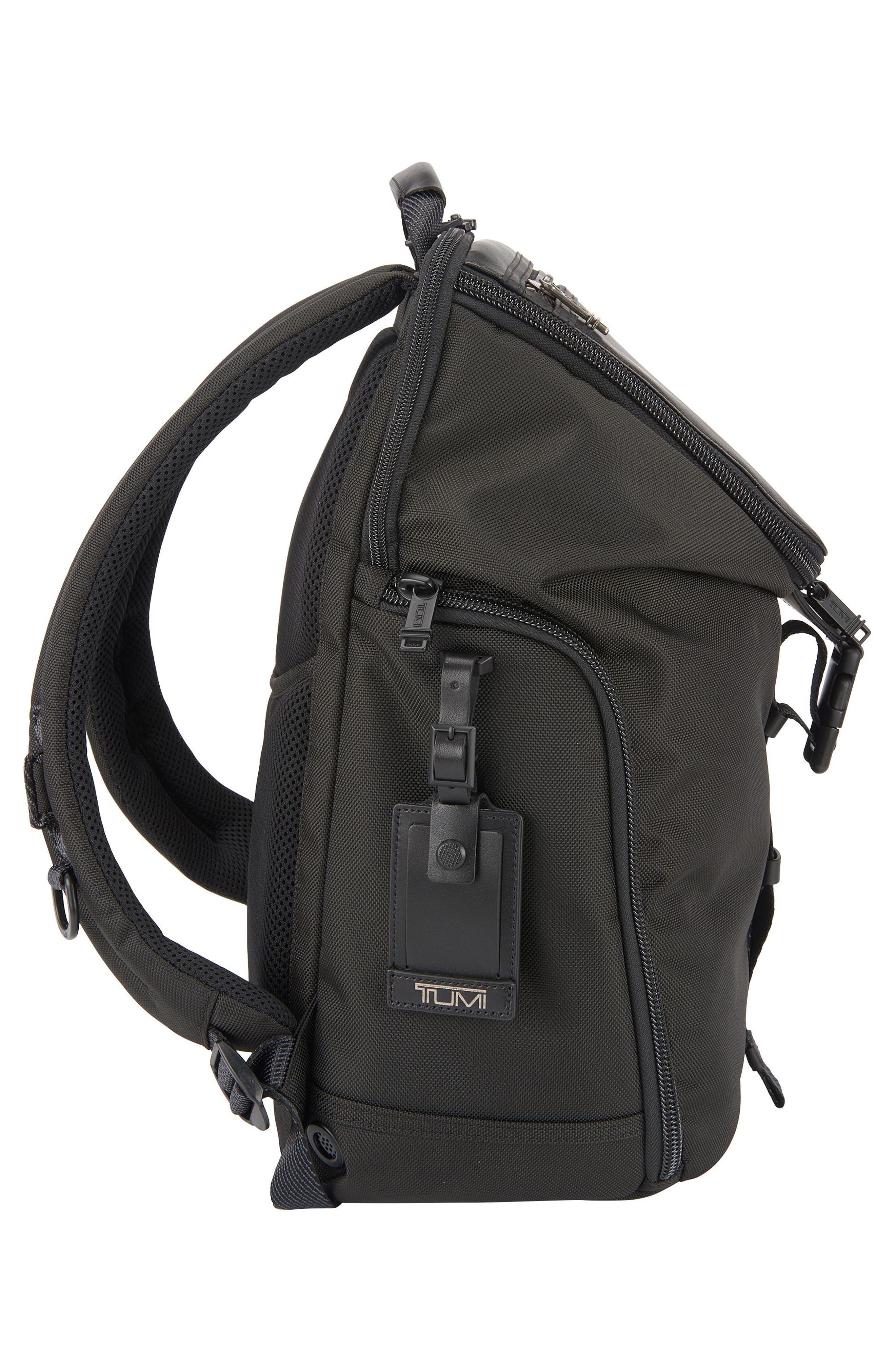 TUMI,                             Alpha Bravo - Willow Backpack,                             Alternate thumbnail 4, color,                             001