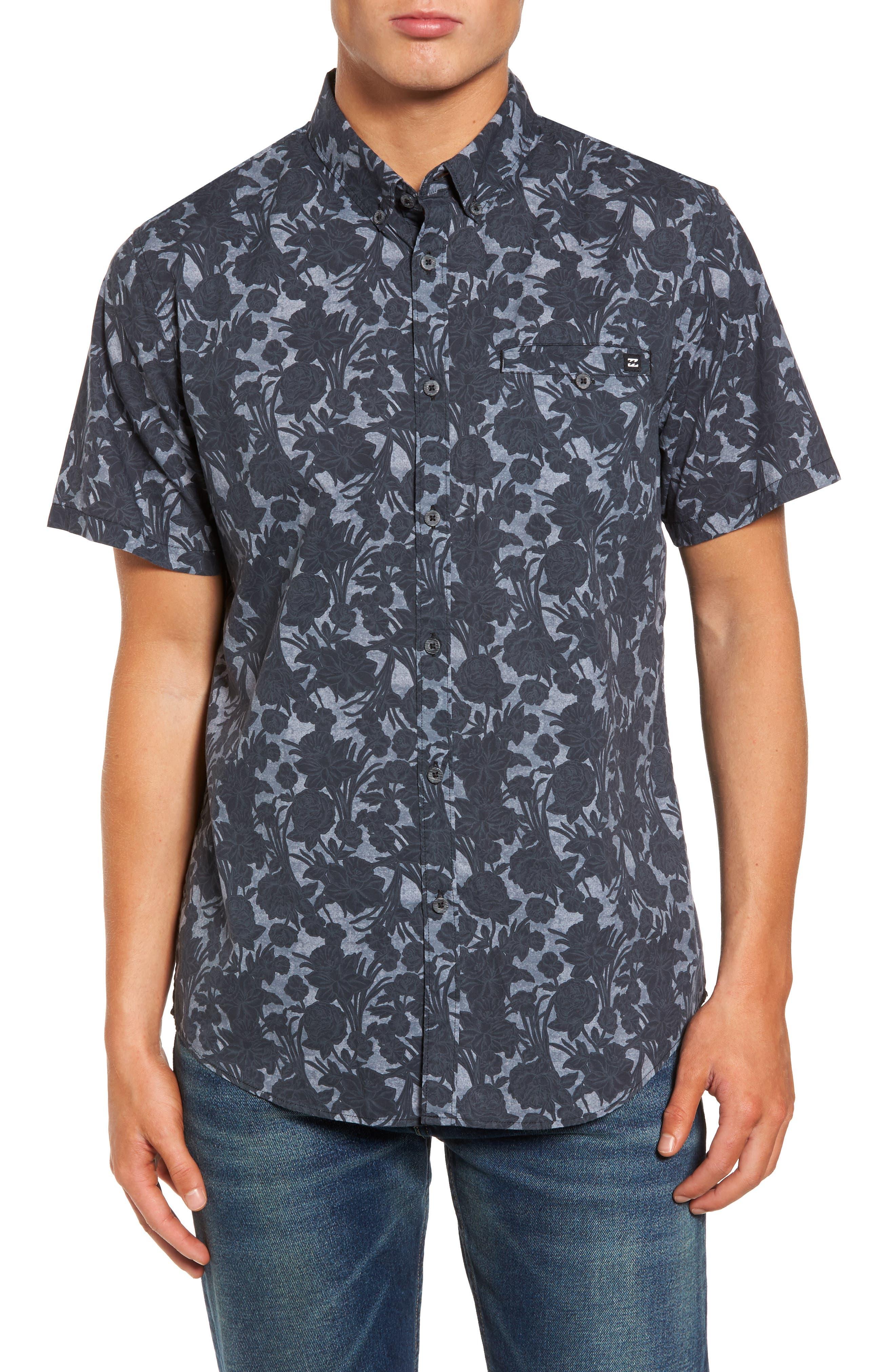 Sunday Woven Shirt,                         Main,                         color, 001
