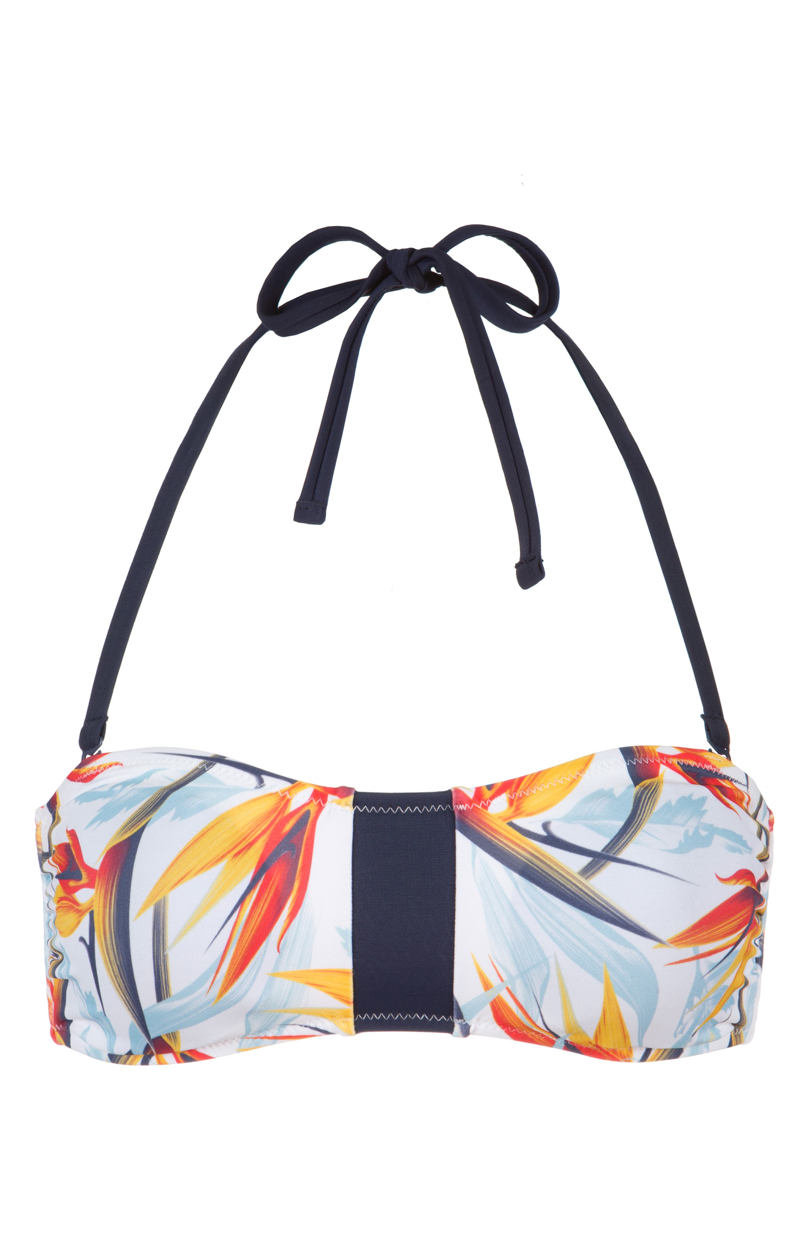 The Bandeau,                             Alternate thumbnail 3, color,                             DAYBREAK PRINT AND LIVELY NAVY
