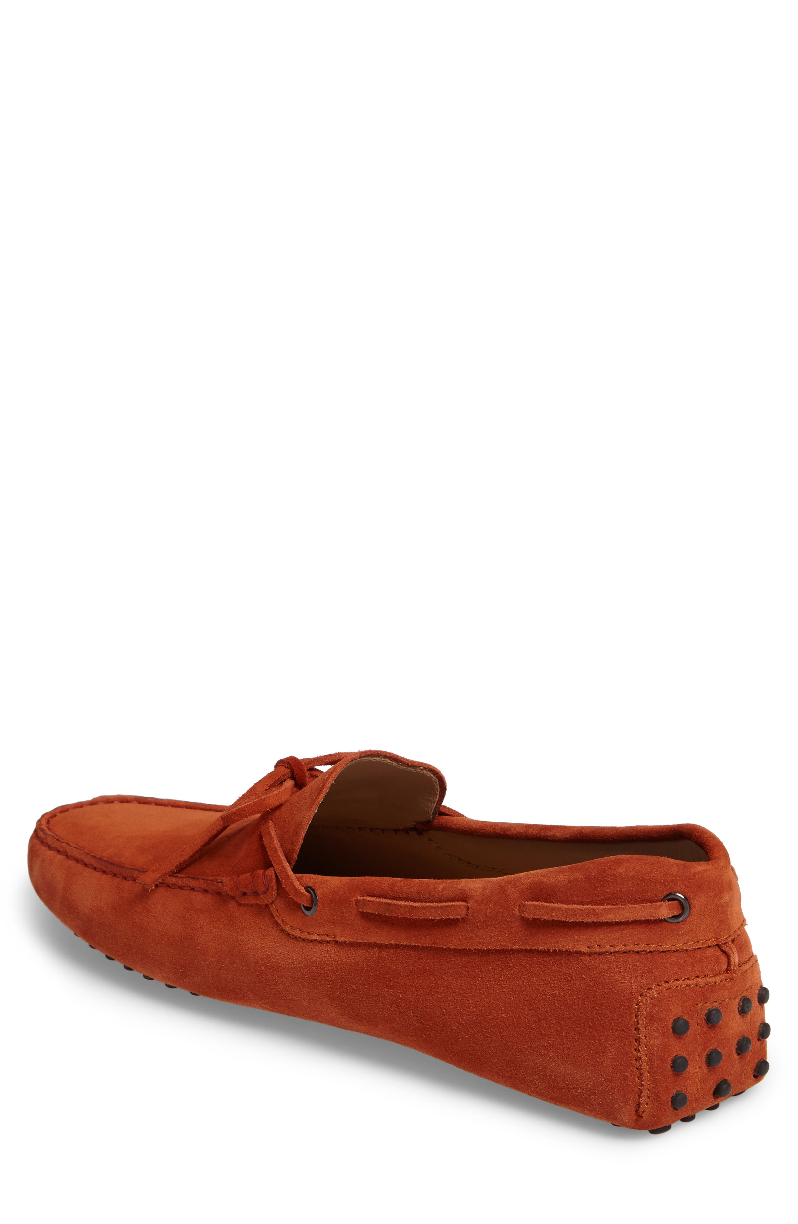 Gommini Tie Front Driving Moccasin,                             Alternate thumbnail 41, color,
