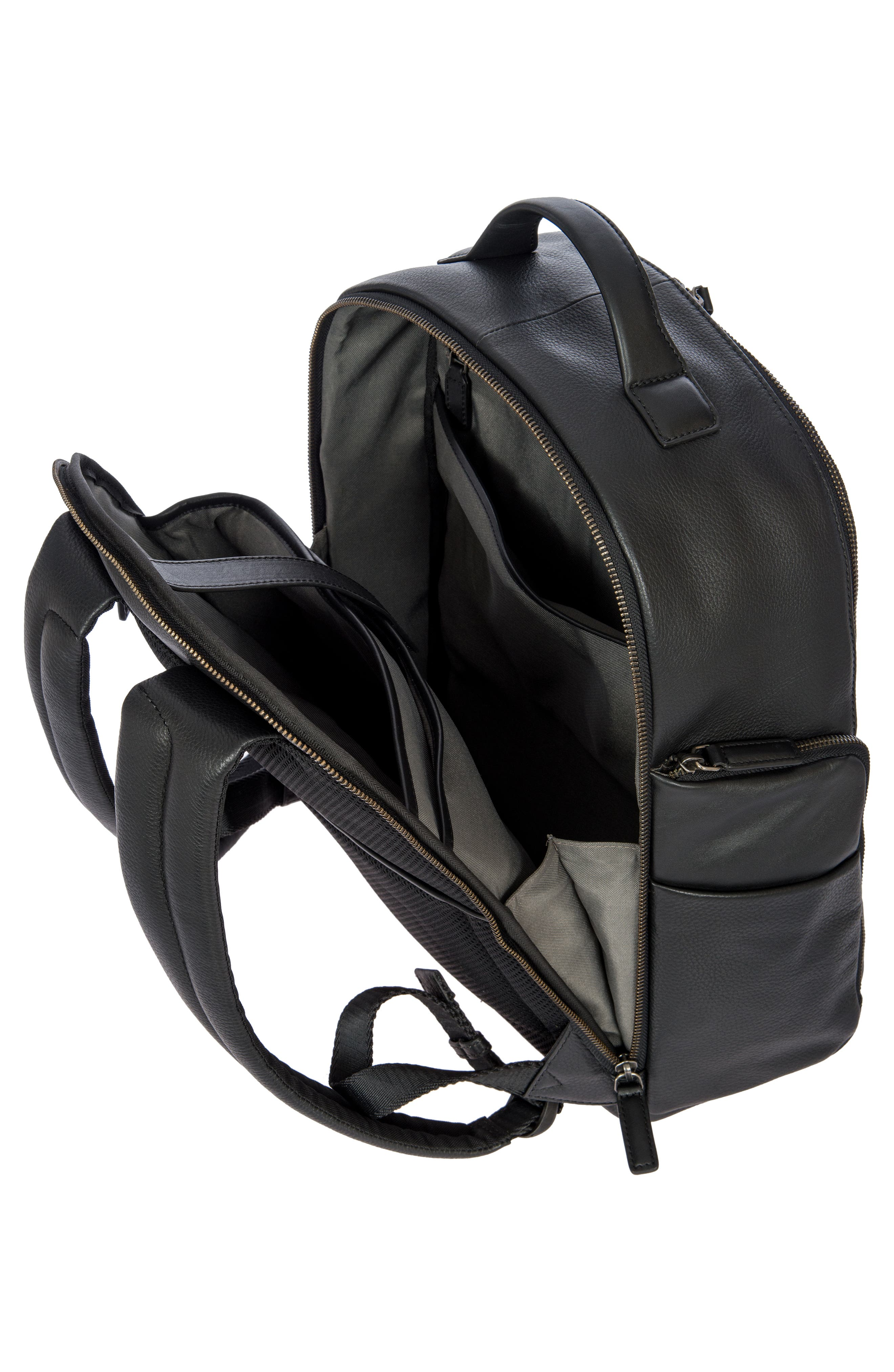 Torino Medium Business Backpack,                             Alternate thumbnail 3, color,                             BLACK