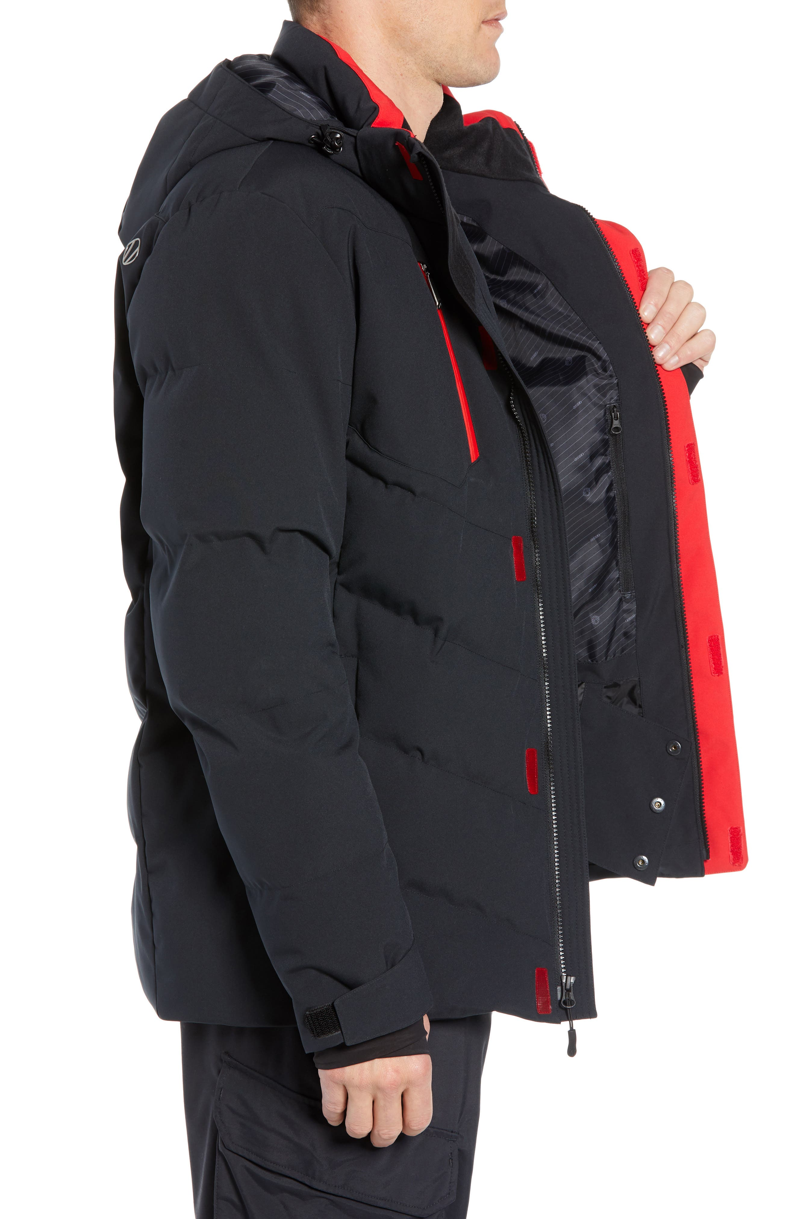 Boulder Waterproof Jacket,                             Alternate thumbnail 3, color,                             001