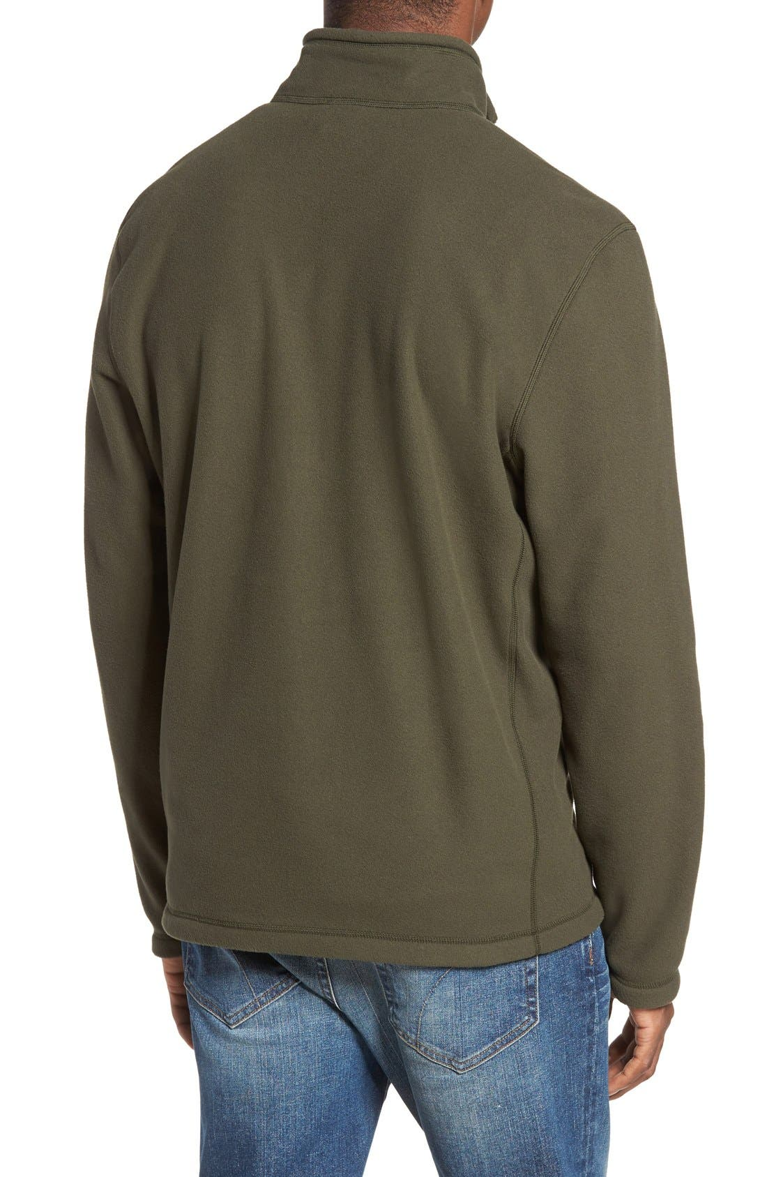 'TKA 100 Glacier' Quarter Zip Fleece Pullover,                             Alternate thumbnail 207, color,