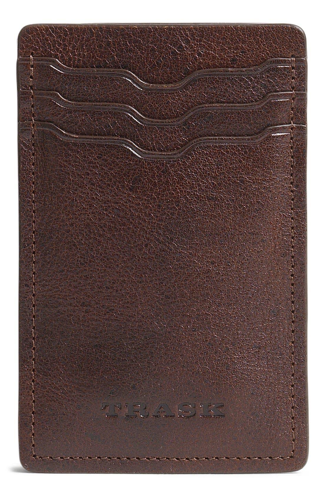'Jackson' Money Clip Wallet,                             Main thumbnail 1, color,                             200