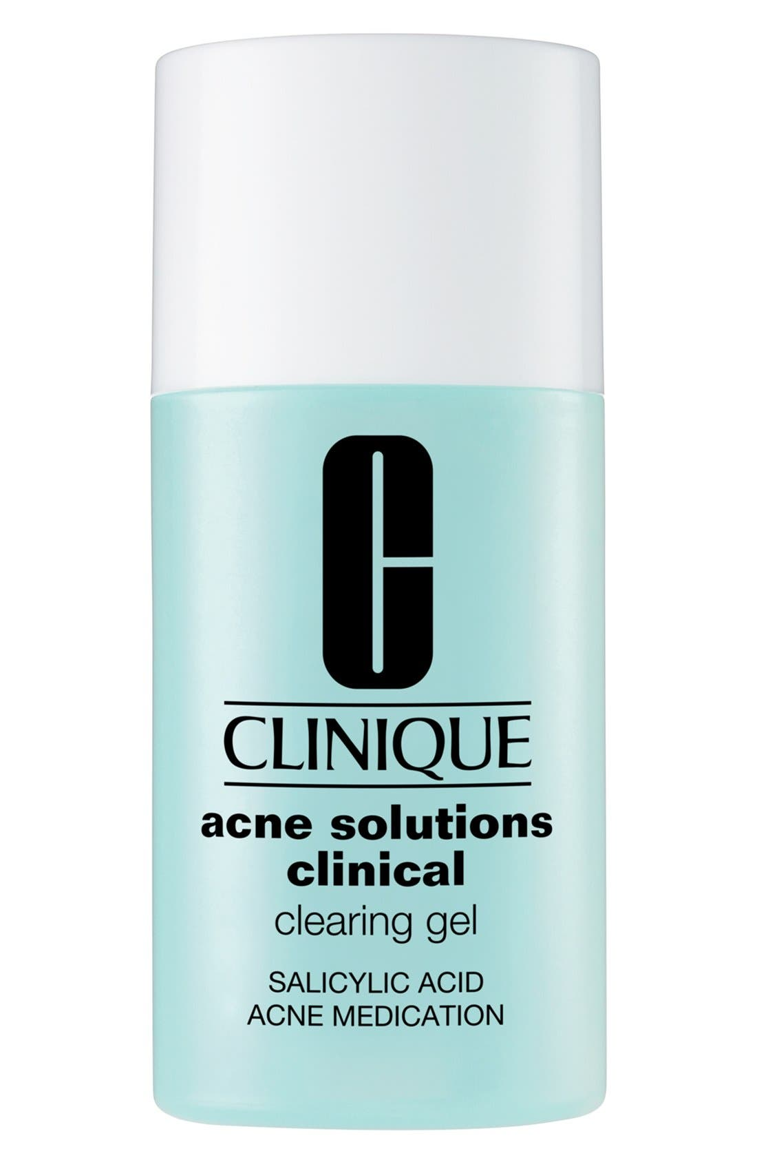Acne Solutions Clinical Clearing Gel,                             Alternate thumbnail 3, color,                             NO COLOR