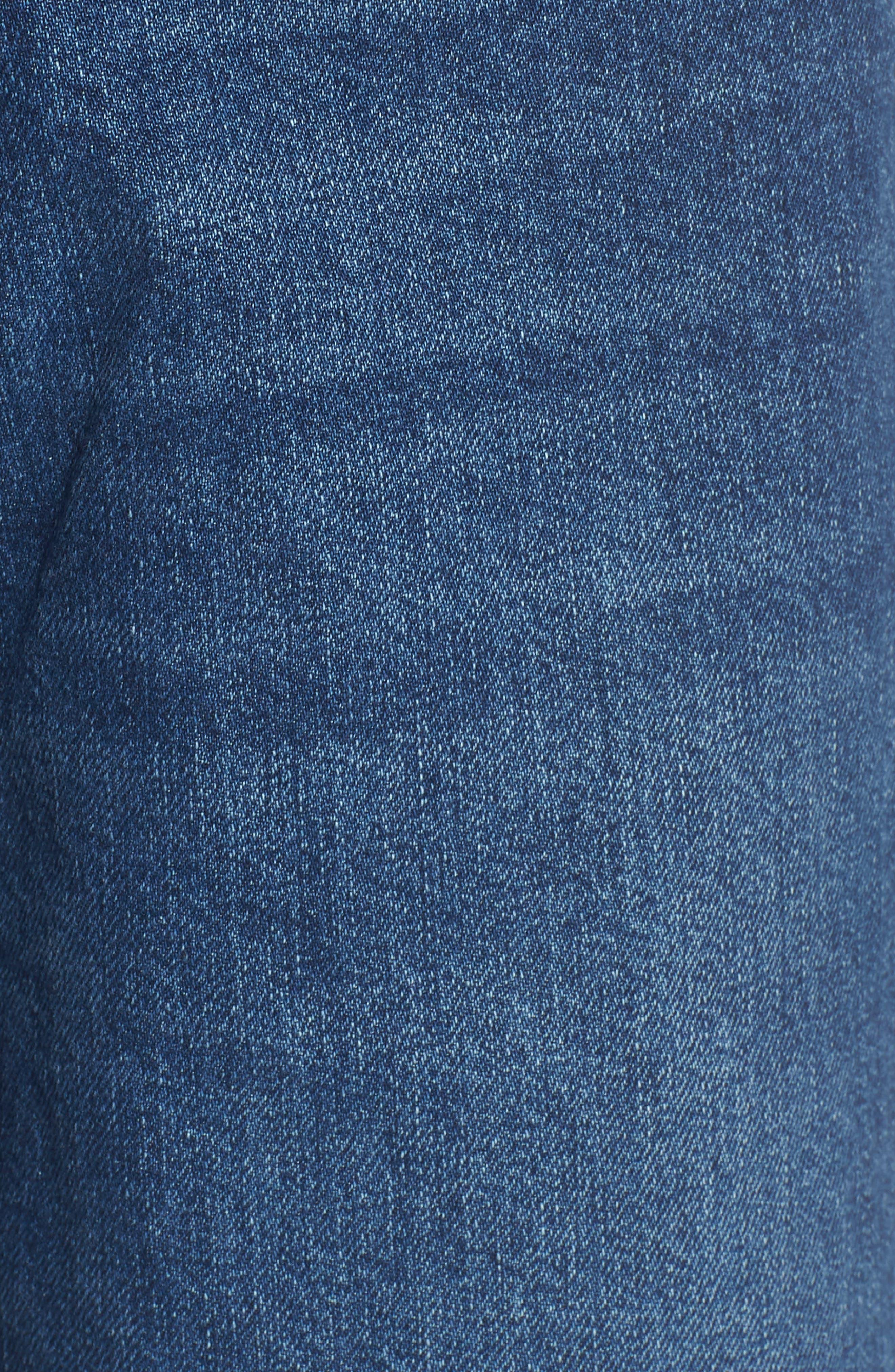 Hepburn High Waist Wide Leg Jeans,                             Alternate thumbnail 6, color,