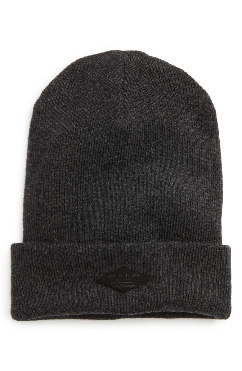02a18634f87 rag   bone Addison Stretch Merino Wool Knit Cap
