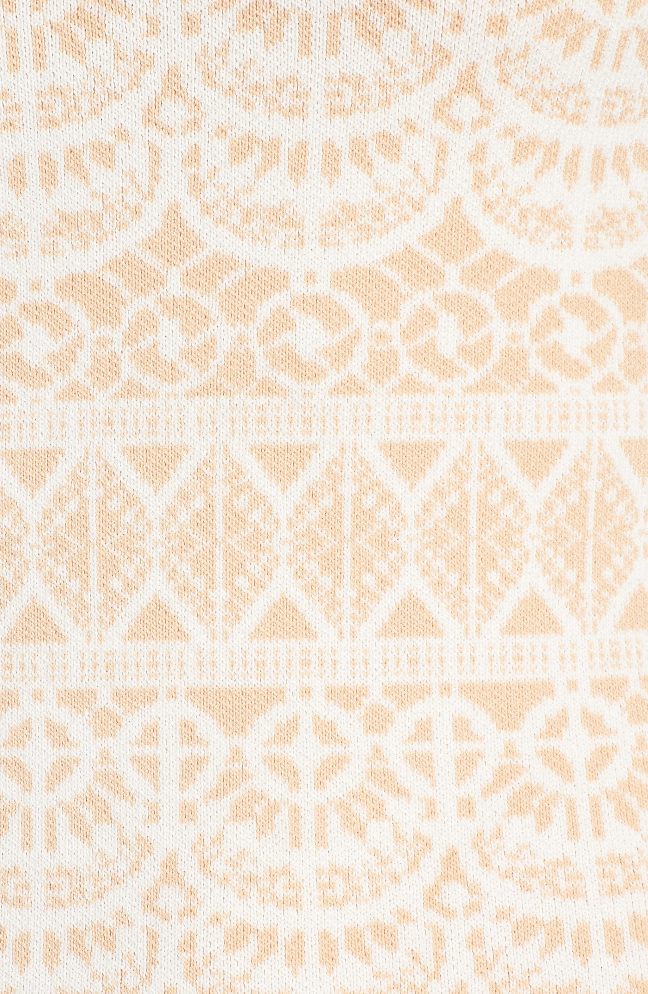 Fete de Fleurs Body-Con Dress,                             Alternate thumbnail 12, color,