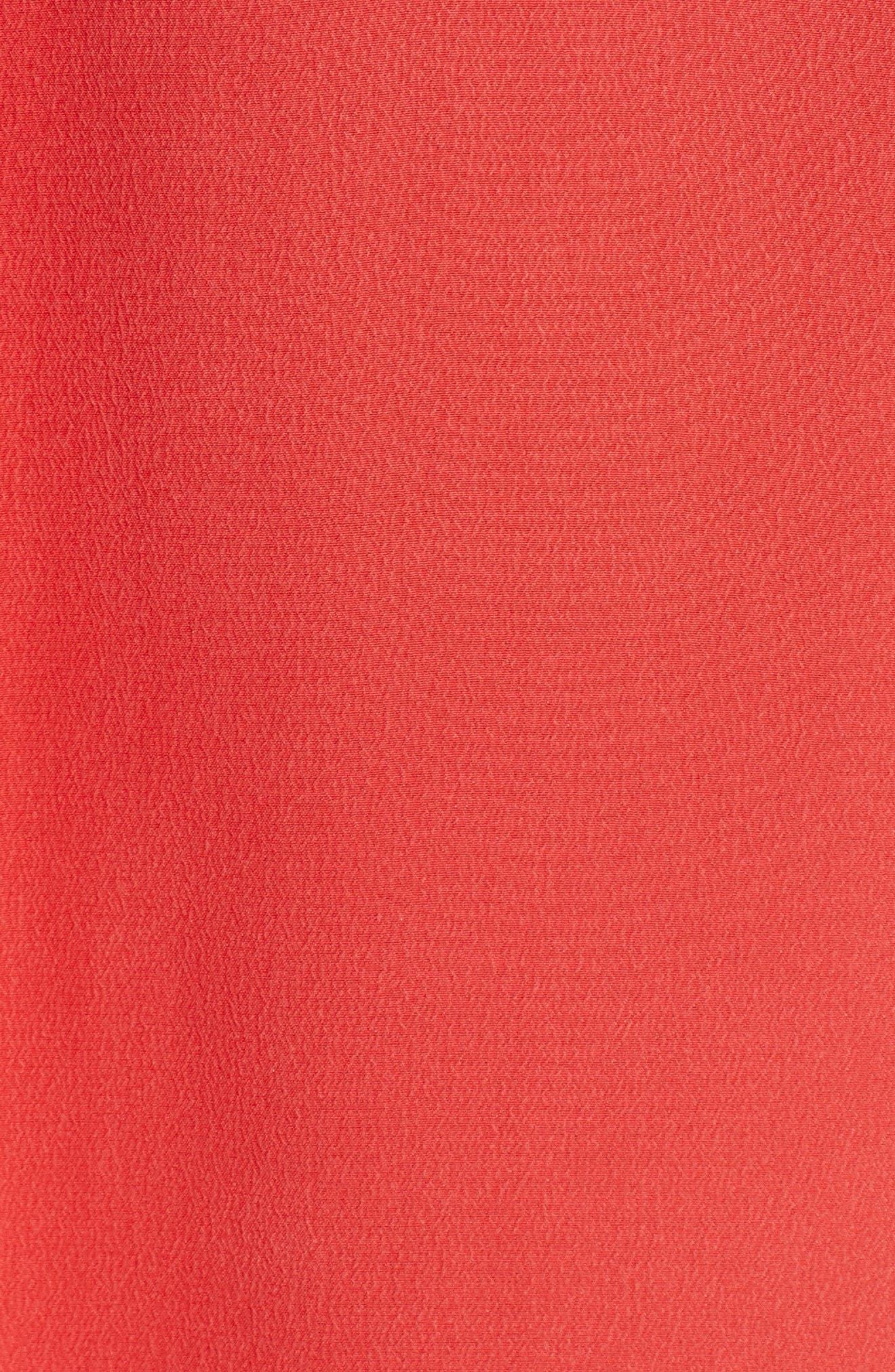 'Slim Signature' Sleeveless Silk Shirt,                             Alternate thumbnail 171, color,