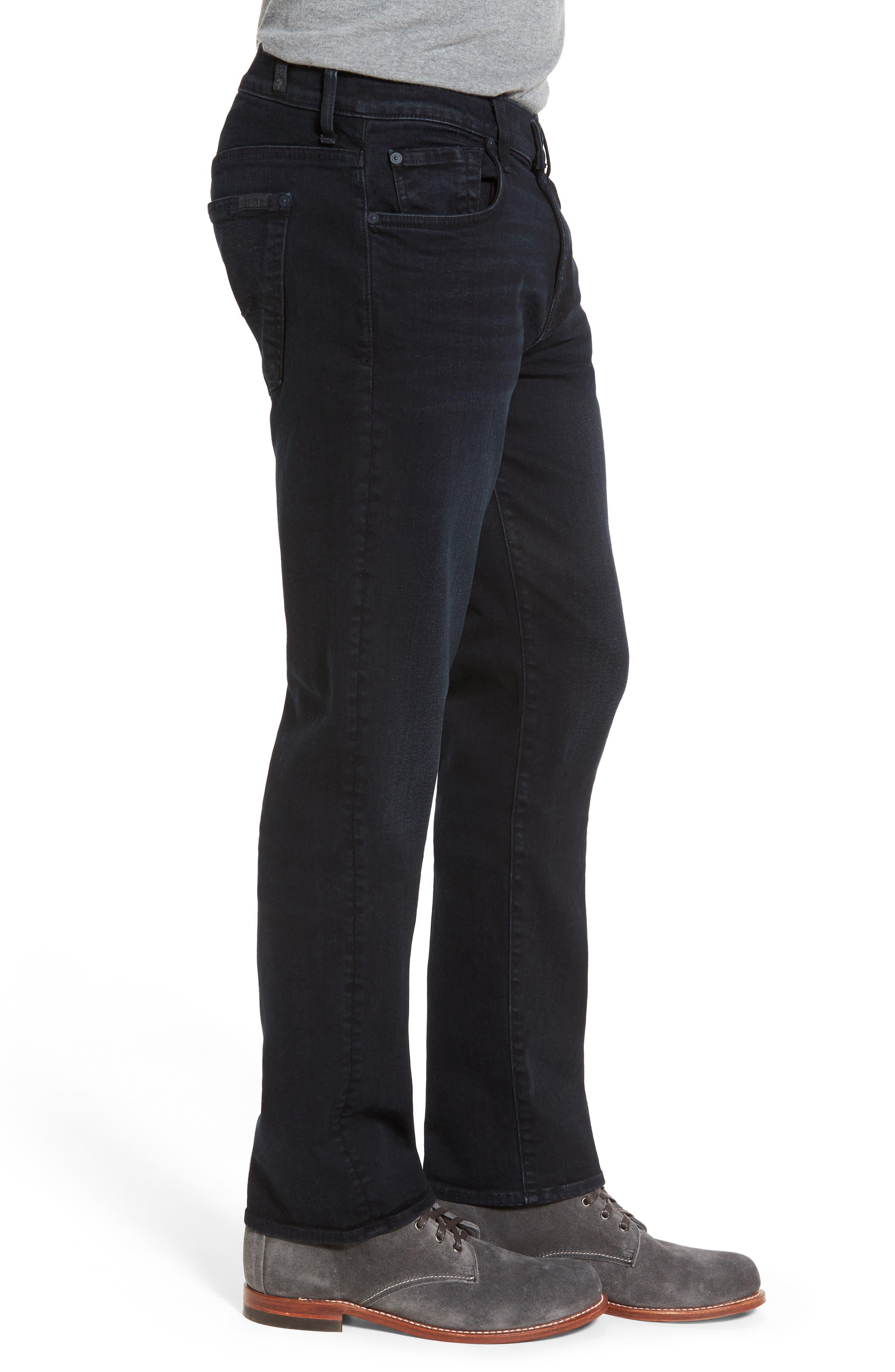 'Standard - Luxe Performance' Straight Leg Jeans,                             Alternate thumbnail 6, color,                             STOCKHOLME