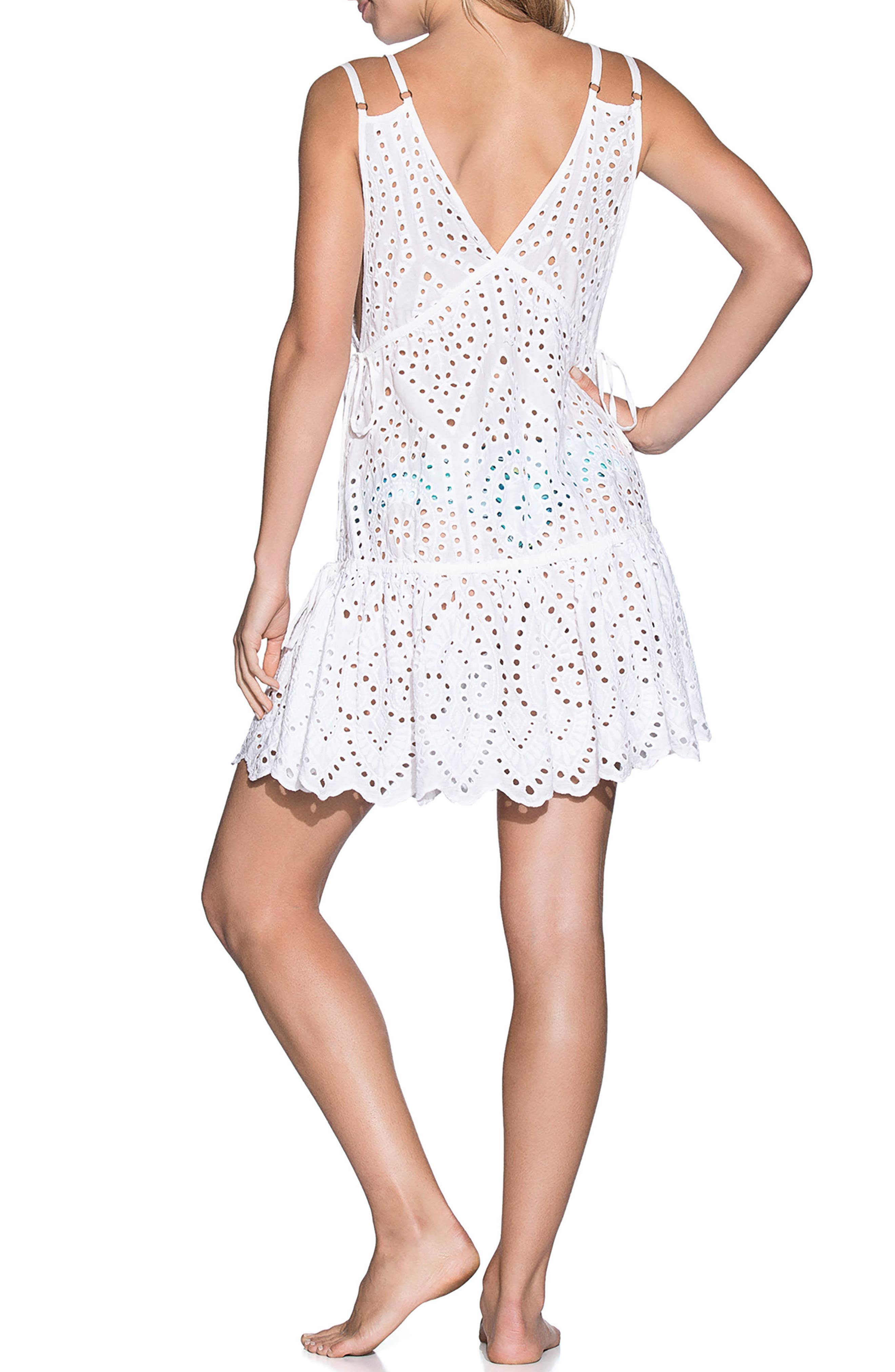 Dreamy Wonderland Cover-Up Dress,                             Alternate thumbnail 2, color,                             100