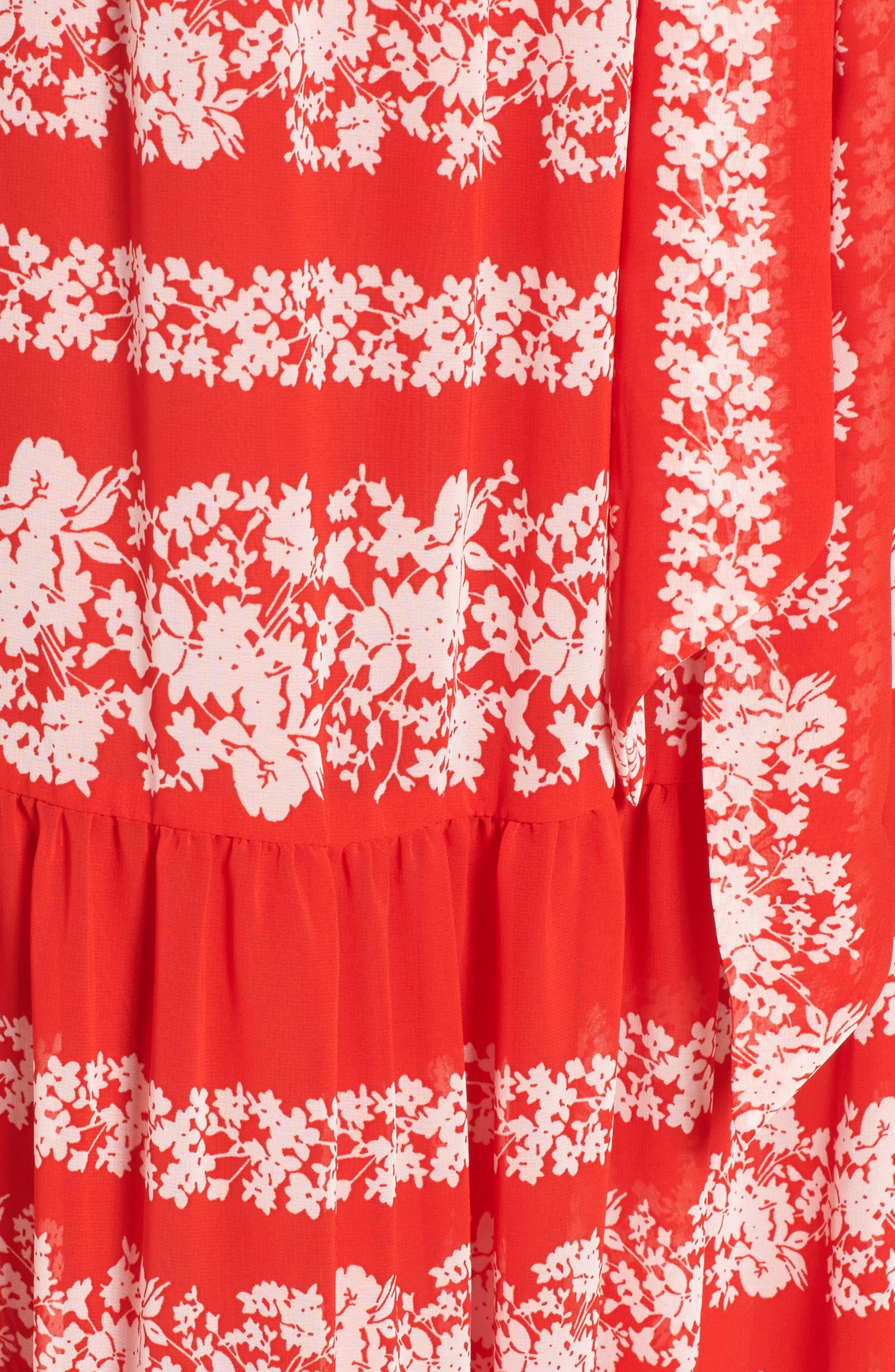 Off the Shoulder Maxi Dress,                             Alternate thumbnail 5, color,                             610