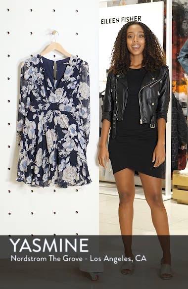 Nordi Floral Fit & Flare Party Dress, sales video thumbnail