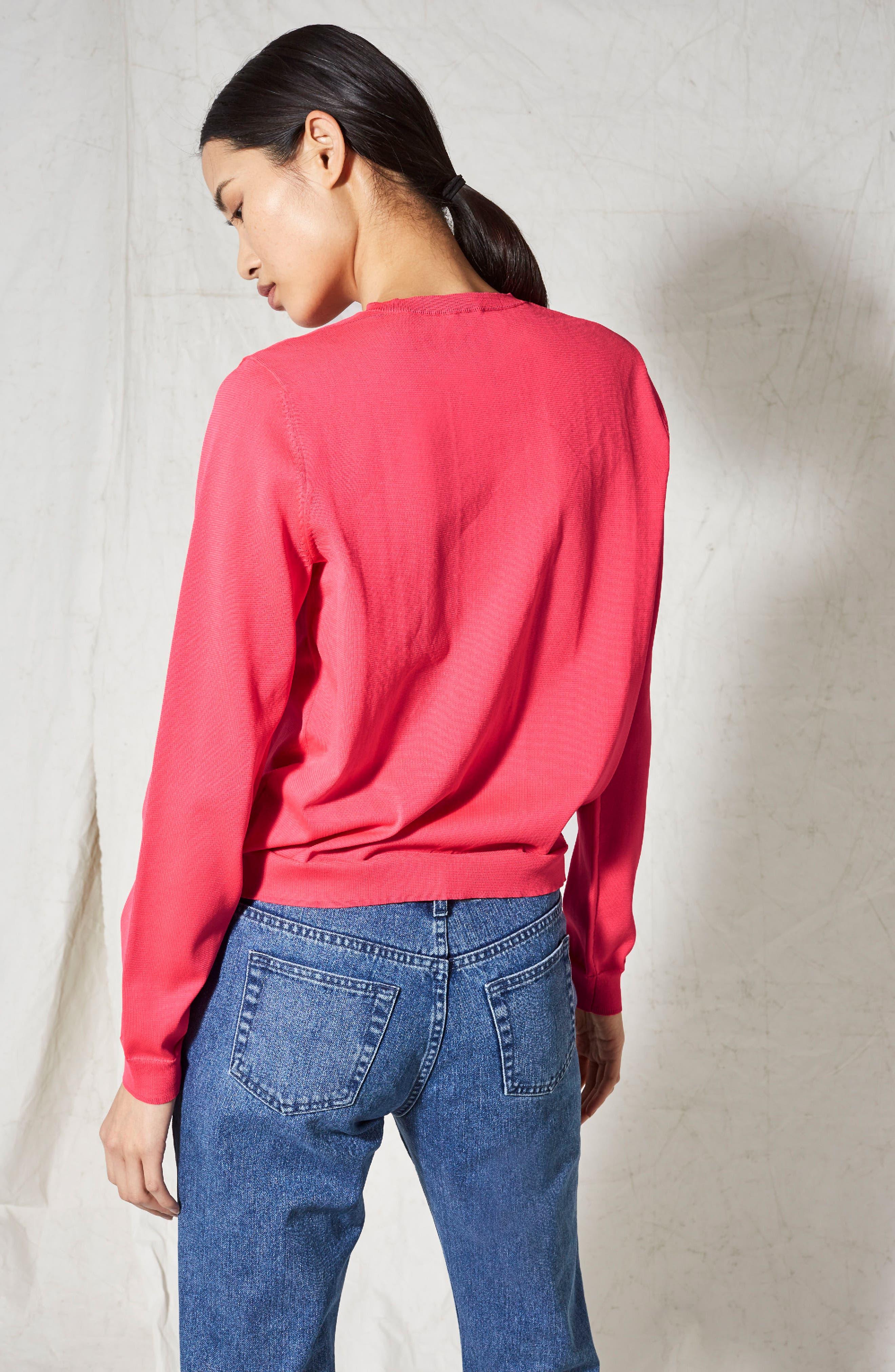 V-Neck Sweater,                             Alternate thumbnail 5, color,                             680