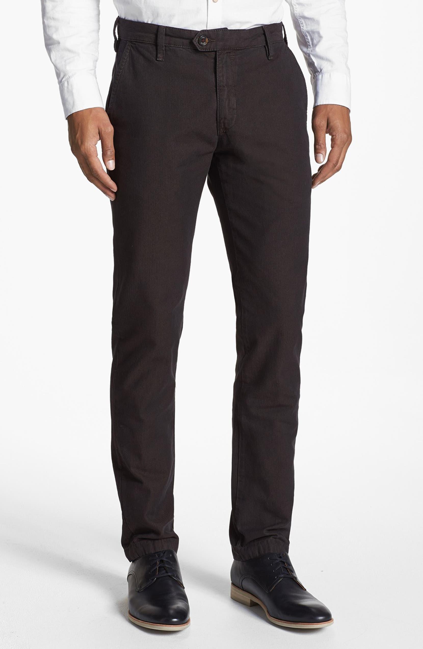 ad9651696c7250 Ted Baker London  Yayzerz  Overdyed Herringbone Pants