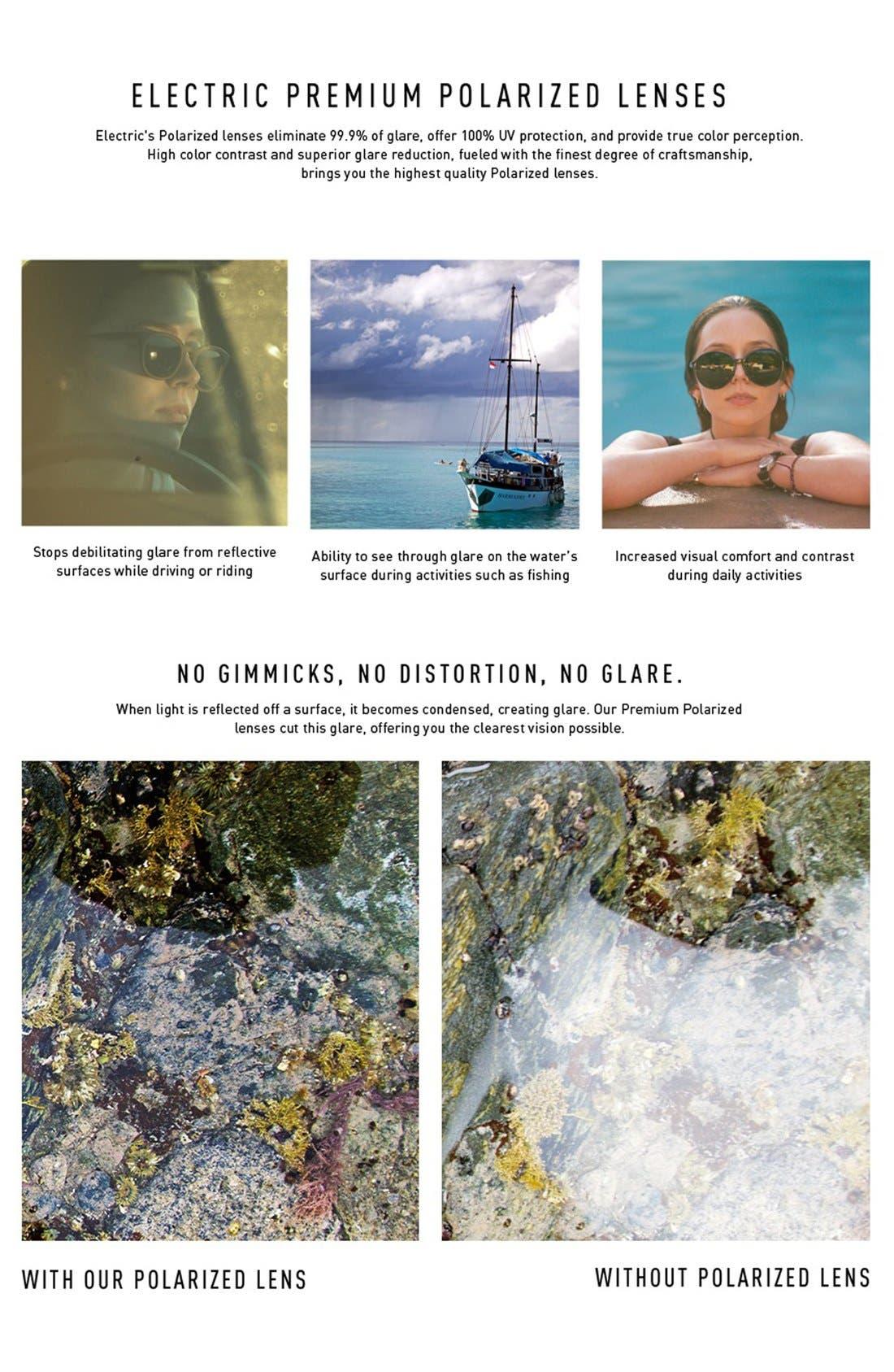 'Encelia' 62mm Polarized Sunglasses,                             Alternate thumbnail 3, color,