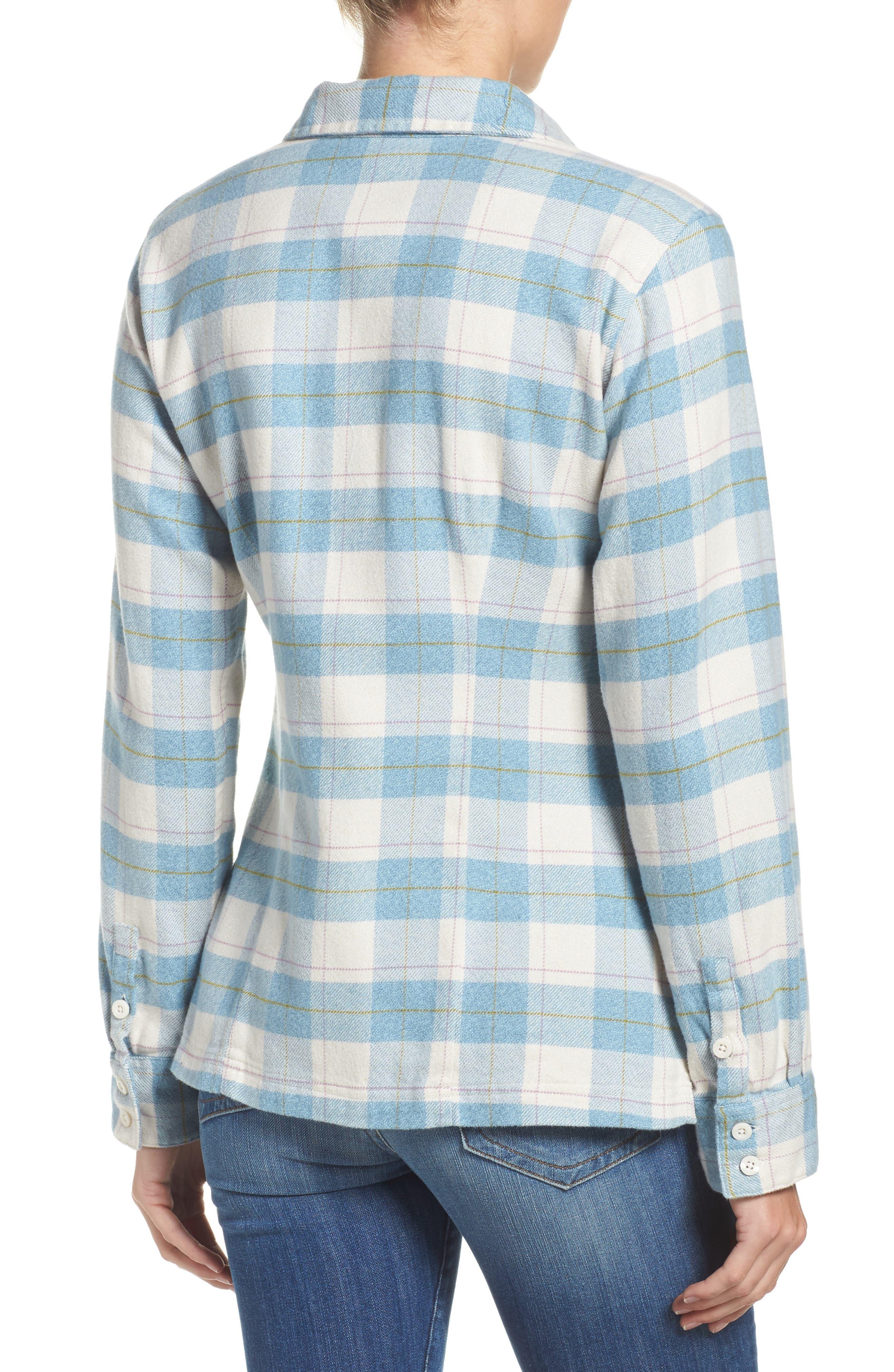'Fjord' Flannel Shirt,                             Alternate thumbnail 22, color,