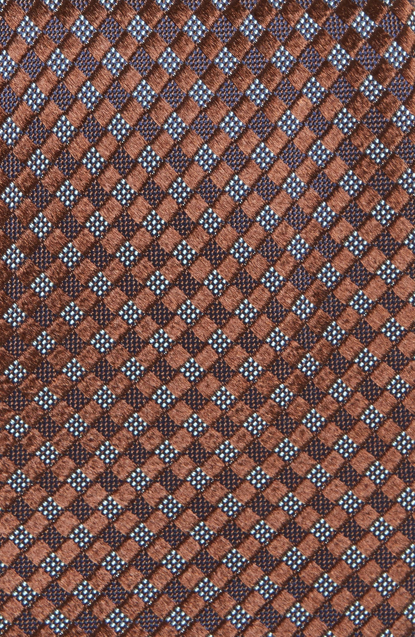 Artesia Check Silk Tie,                             Alternate thumbnail 13, color,